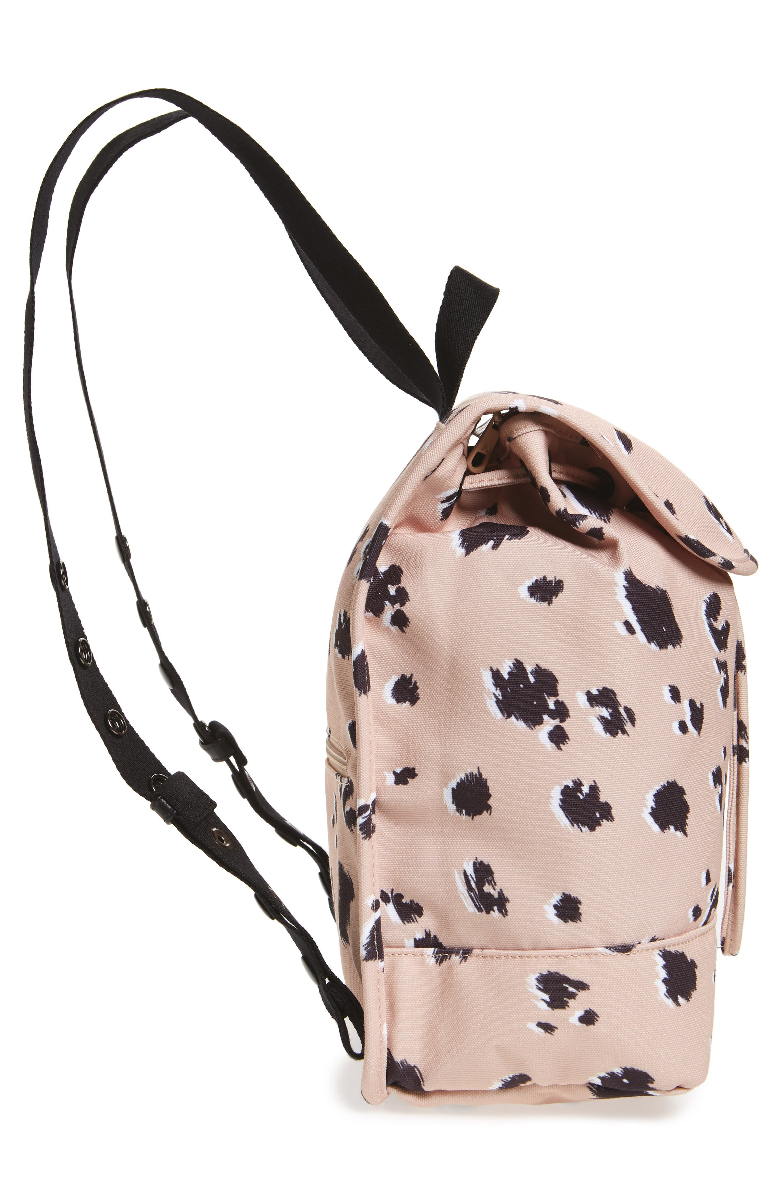 Wingate Hattie Canvas Backpack,                             Alternate thumbnail 5, color,                             Natural Animal
