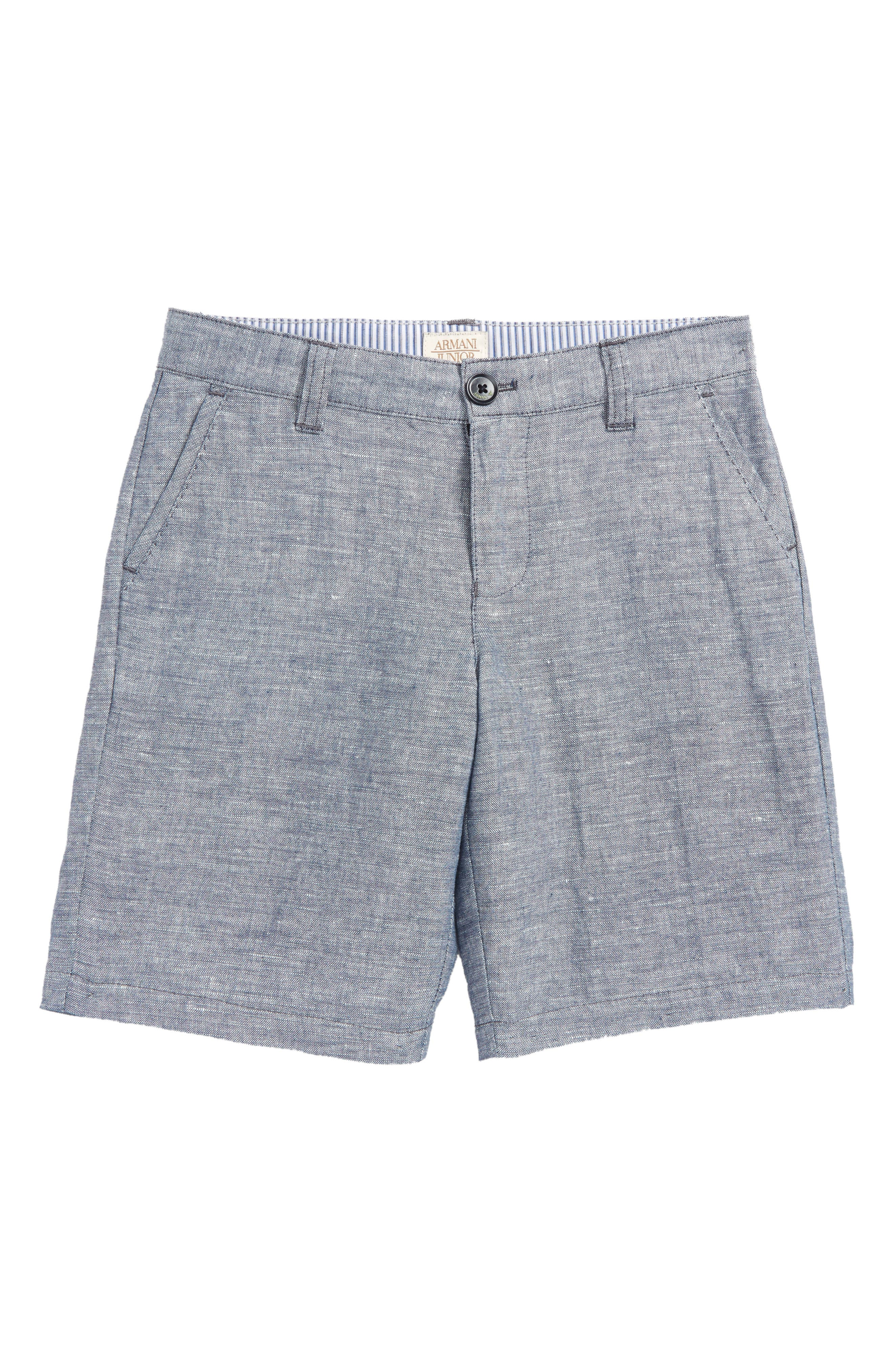 Armani Junior Chambray Shorts (Little Boys & Big Boys)