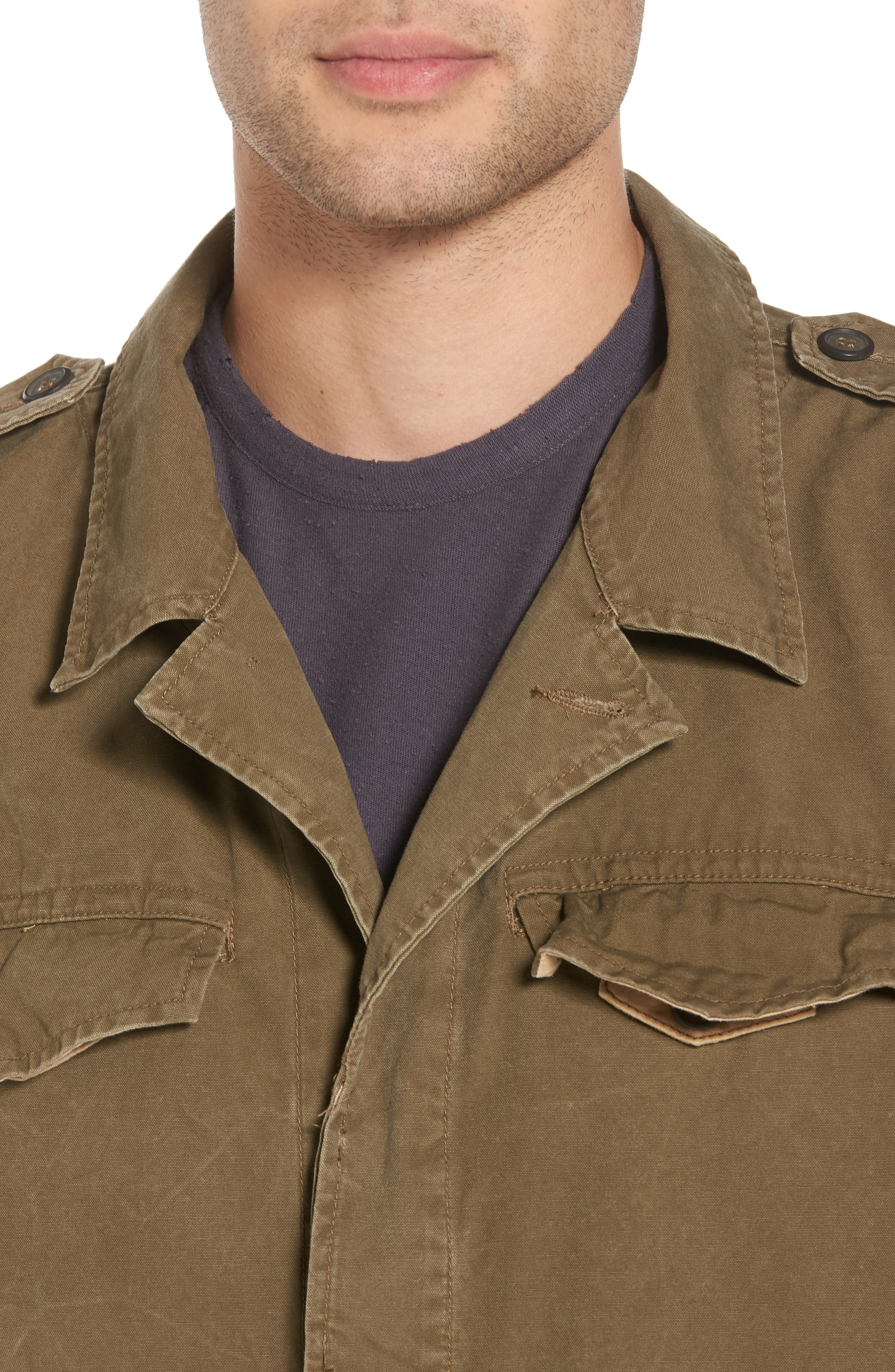 Field Jacket,                             Alternate thumbnail 4, color,                             Army Green