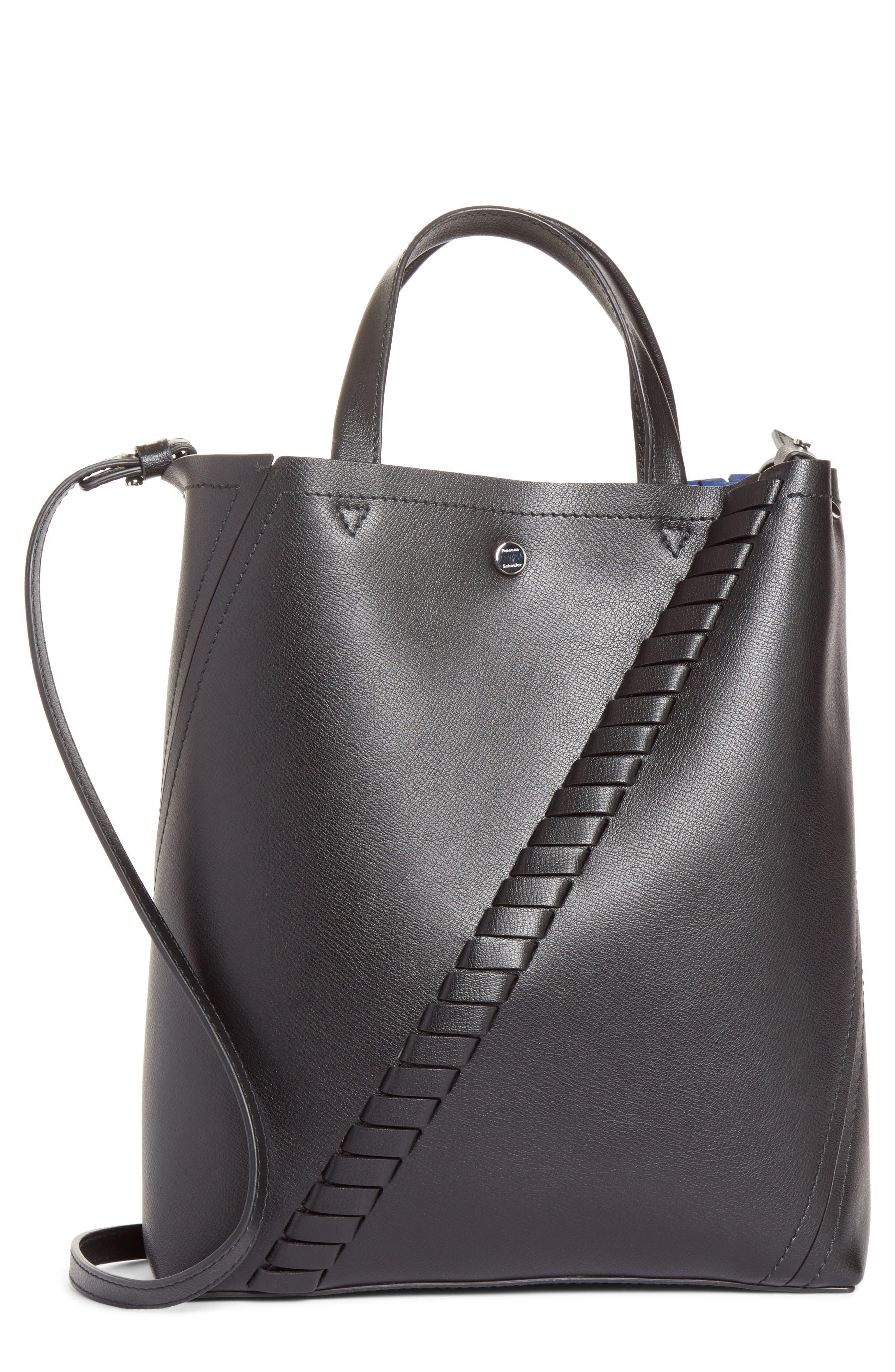 Alternate Image 1 Selected - Proenza Schouler Mini Hex Whipstitch Calfskin Leather Tote