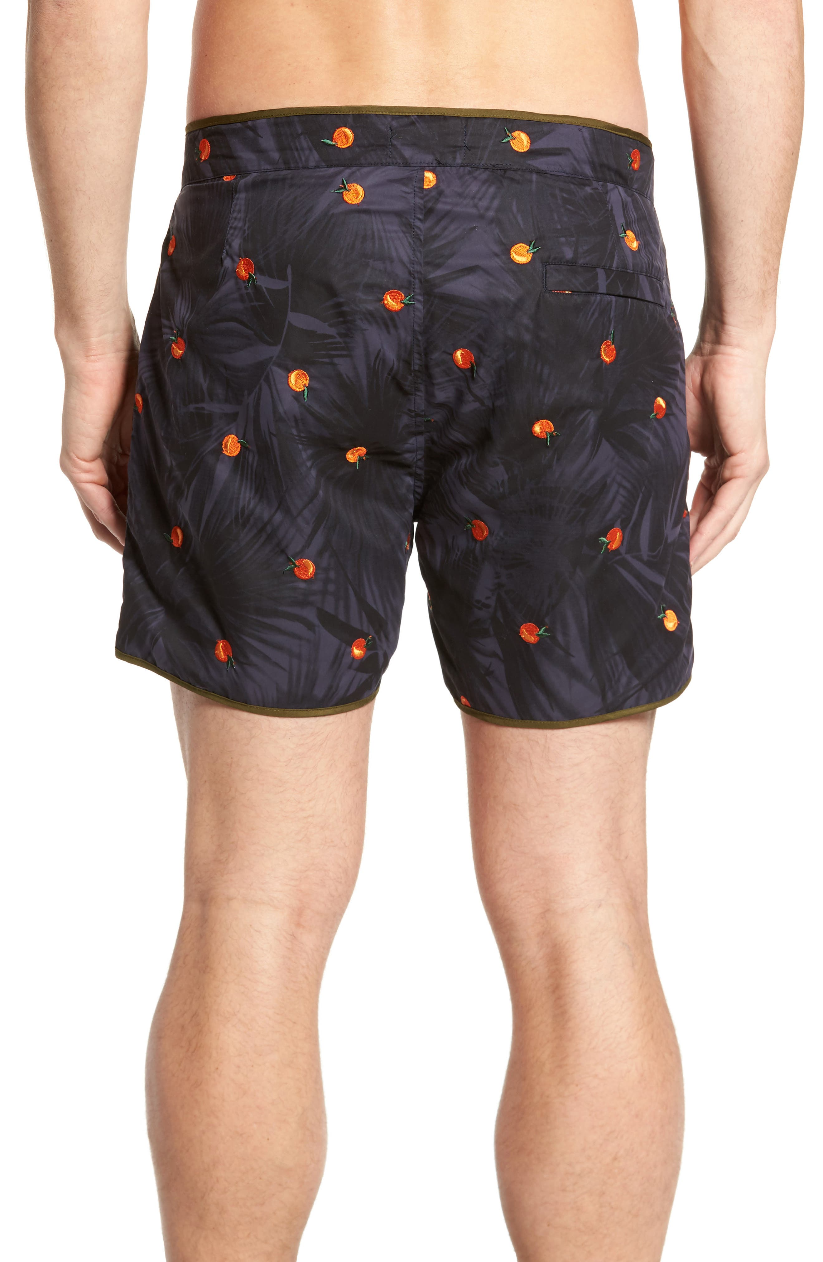 Print Swim Trunks,                             Alternate thumbnail 2, color,                             Combo B