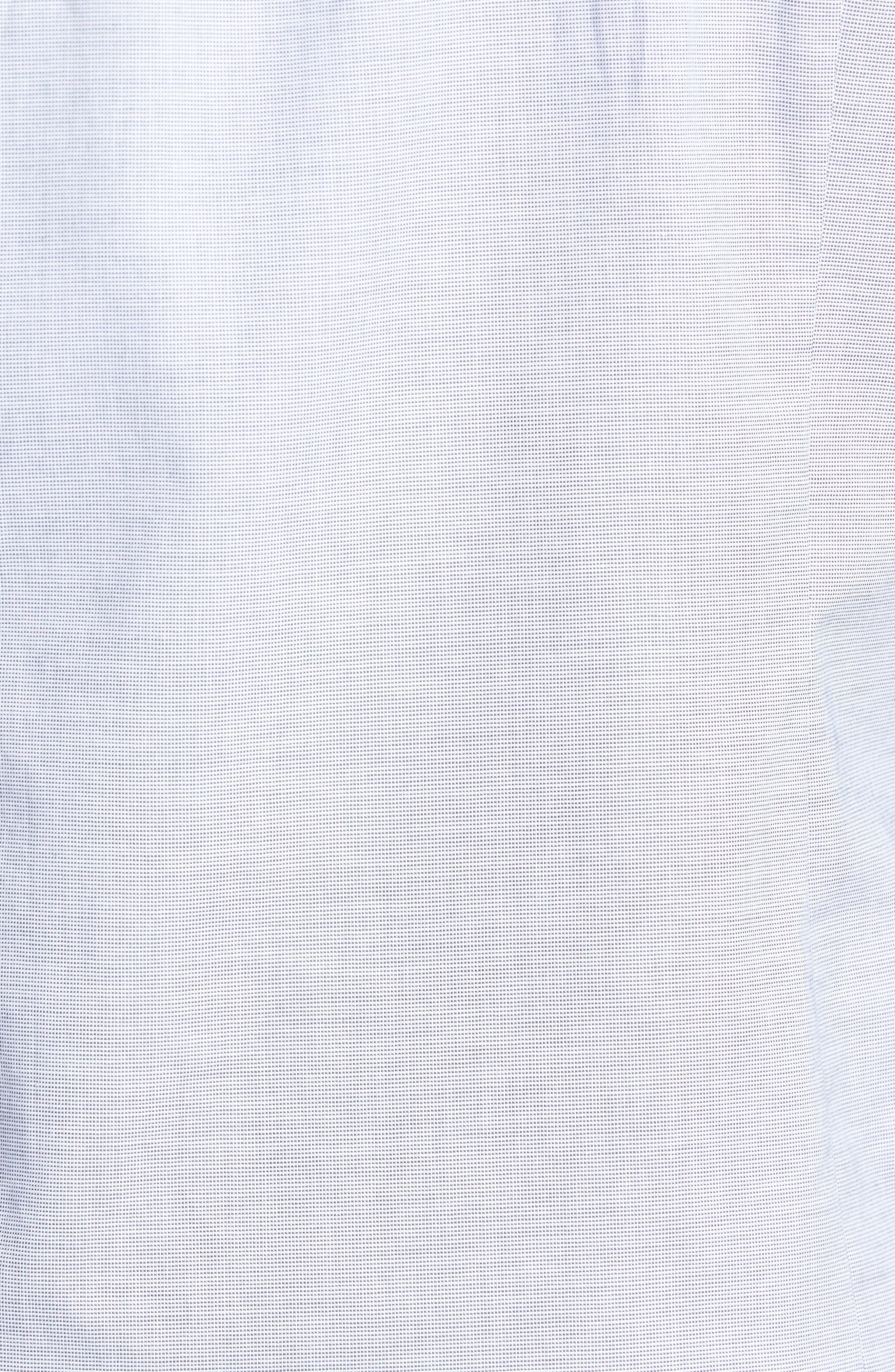 Slim Fit Textured Sport Shirt,                             Alternate thumbnail 5, color,                             Grey