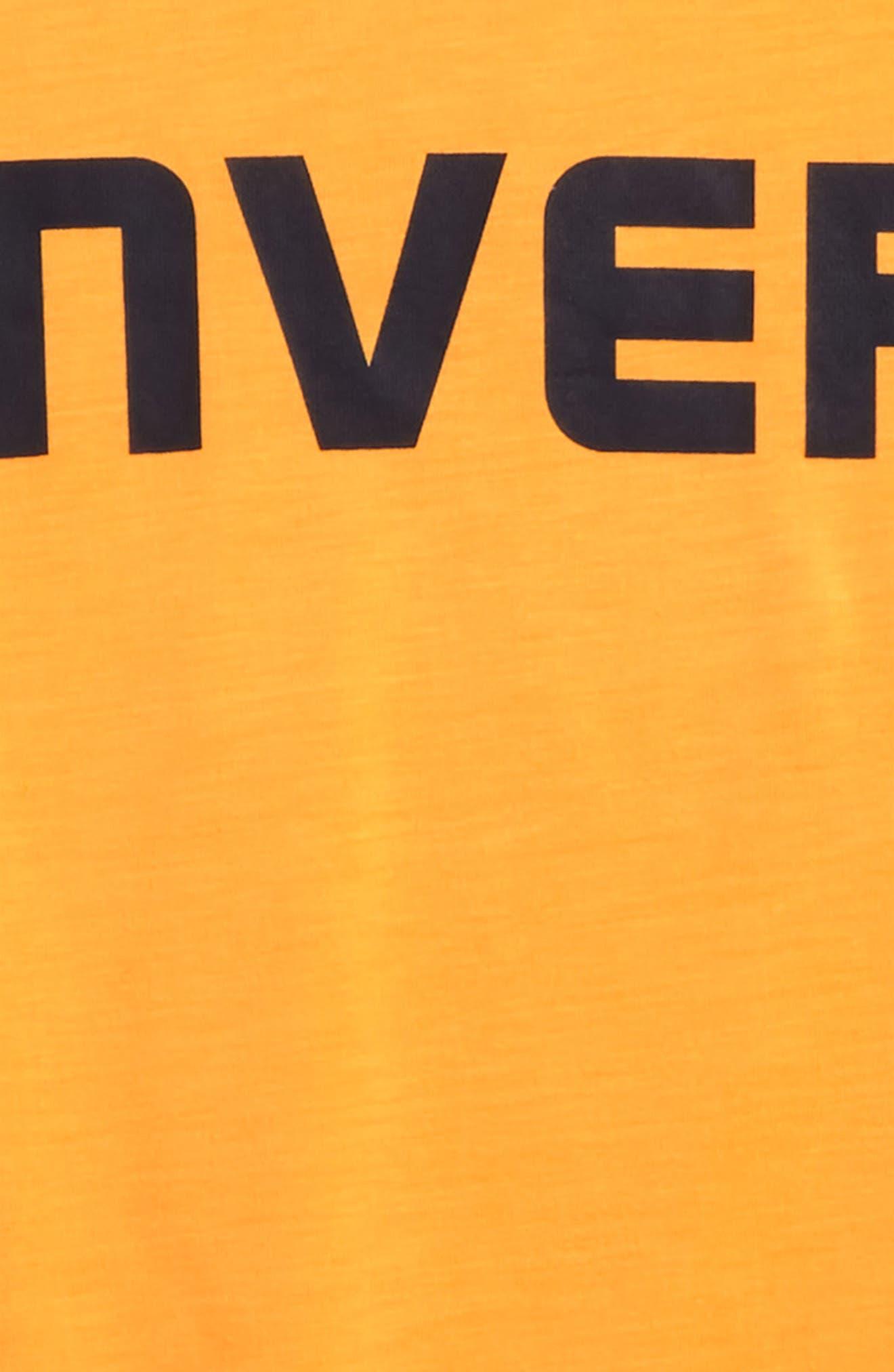 Alternate Image 2  - Converse Wordmark Graphic T-Shirt (Big Boys)