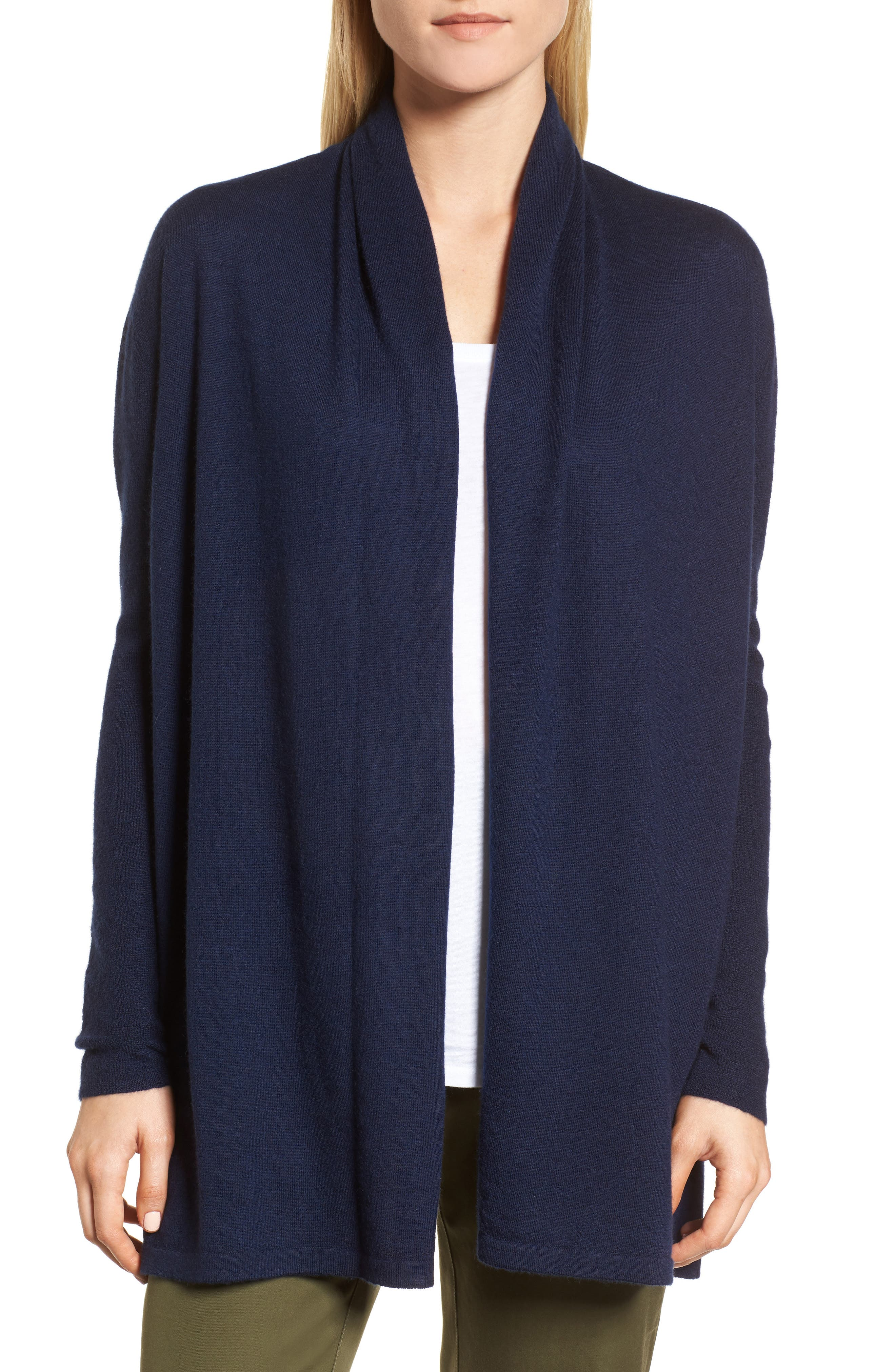 Alternate Image 1 Selected - Nordstrom Signature Cashmere Cardigan