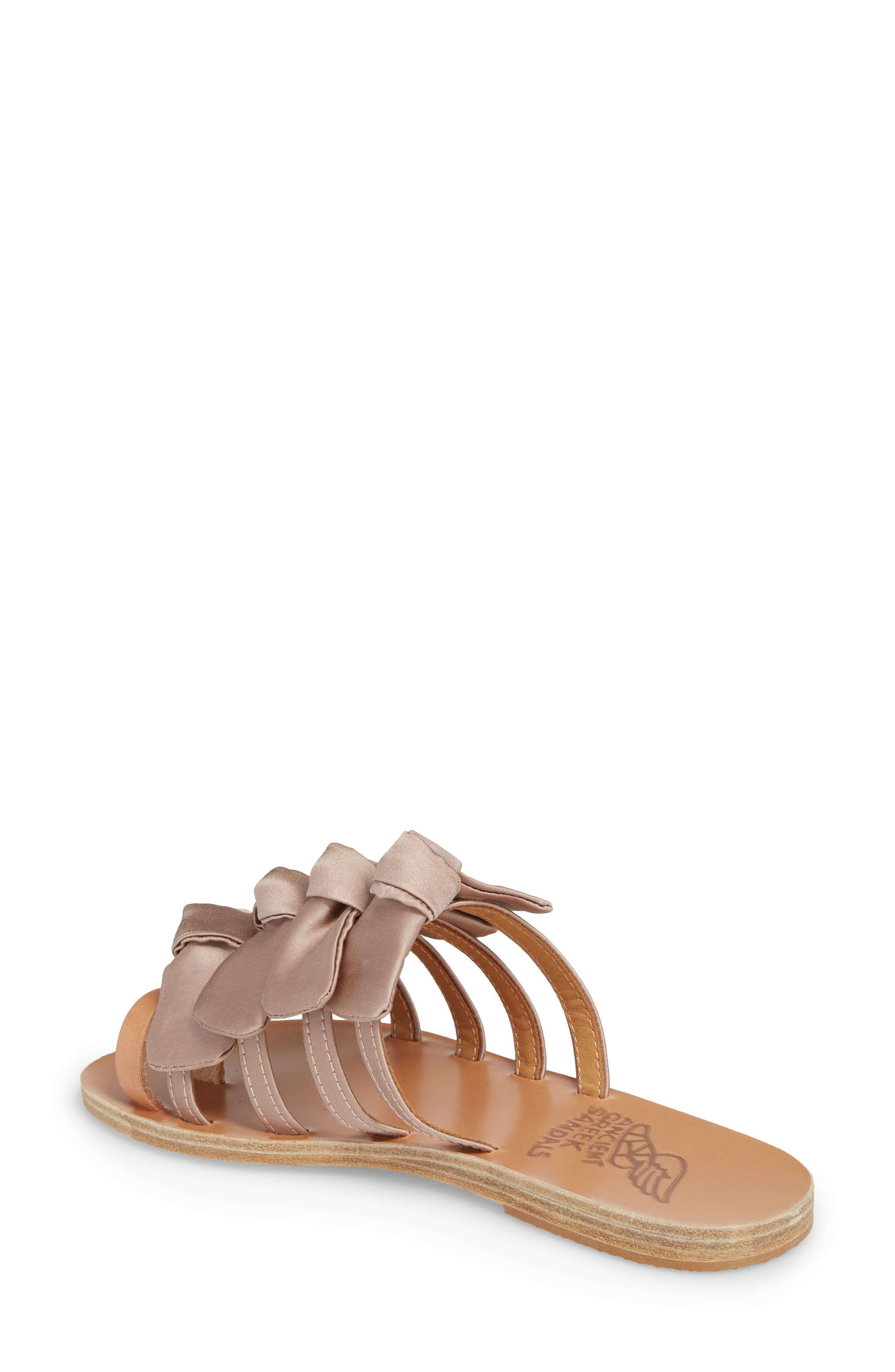 Hara Toe Loop Slide Sandal,                             Alternate thumbnail 2, color,                             Natural/ Lotus