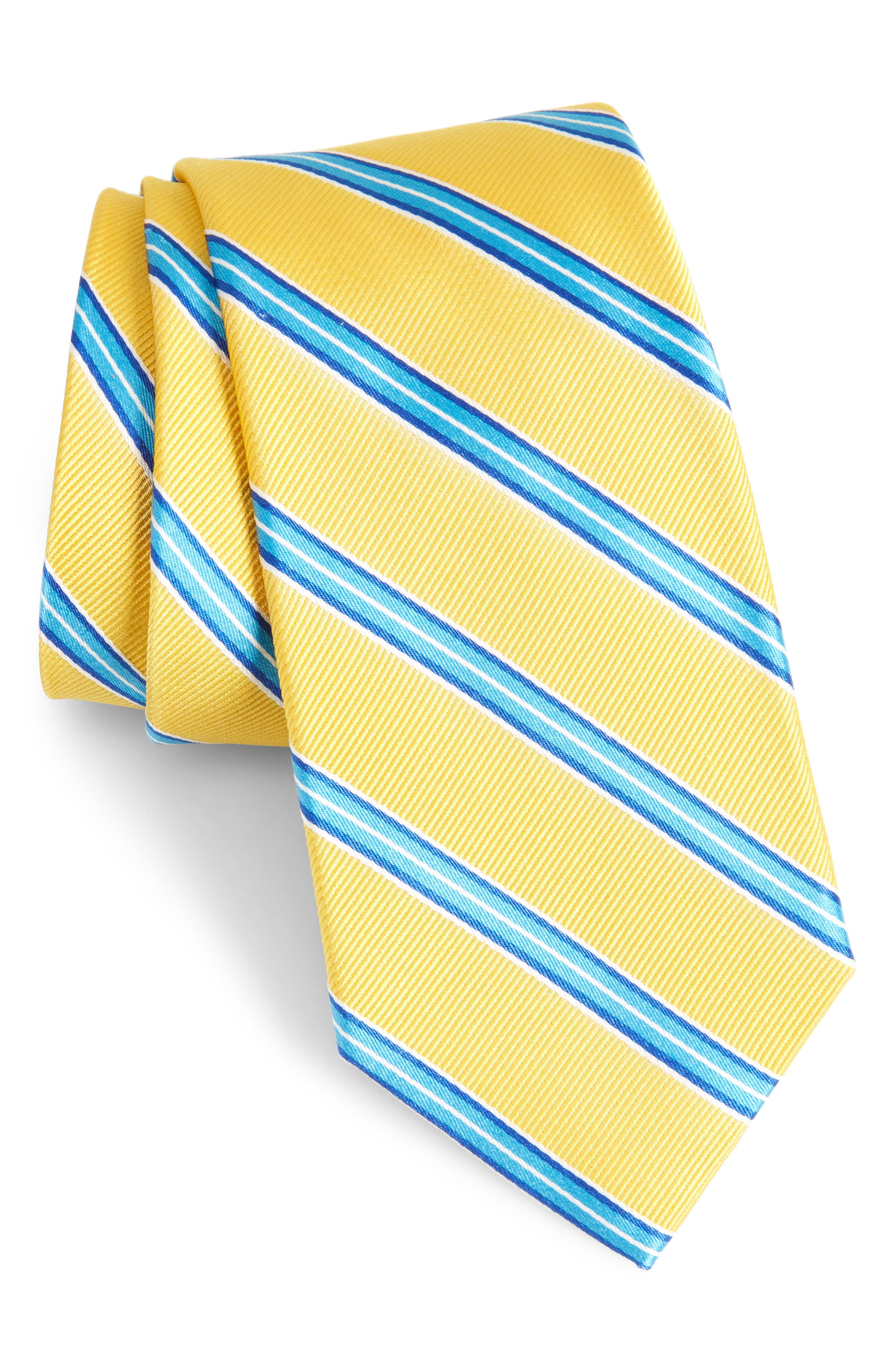 Nordstrom Men's Shop Chester Stripe Silk Tie