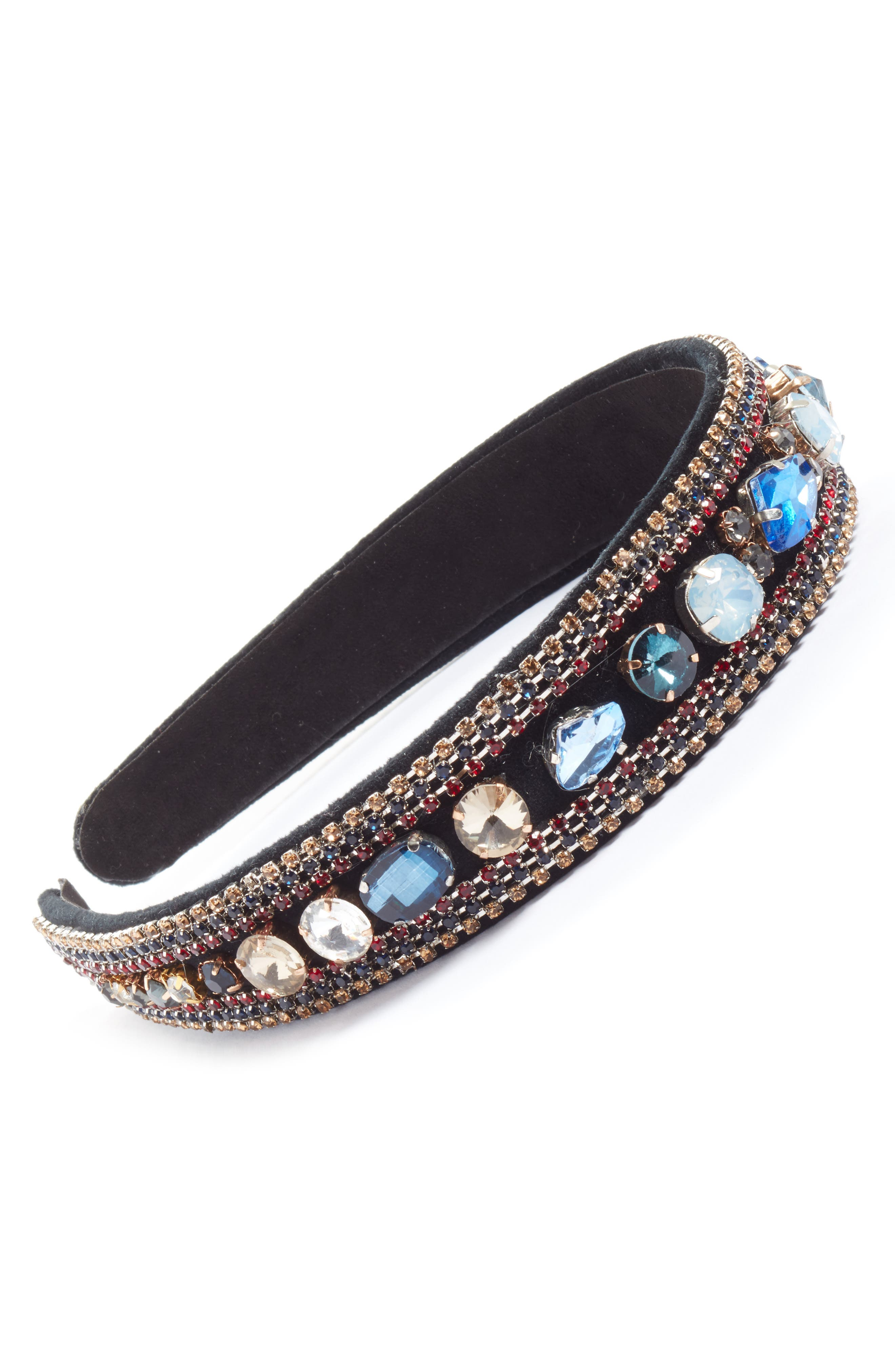 Main Image - Tasha Chunky Crystal Embellished Headband