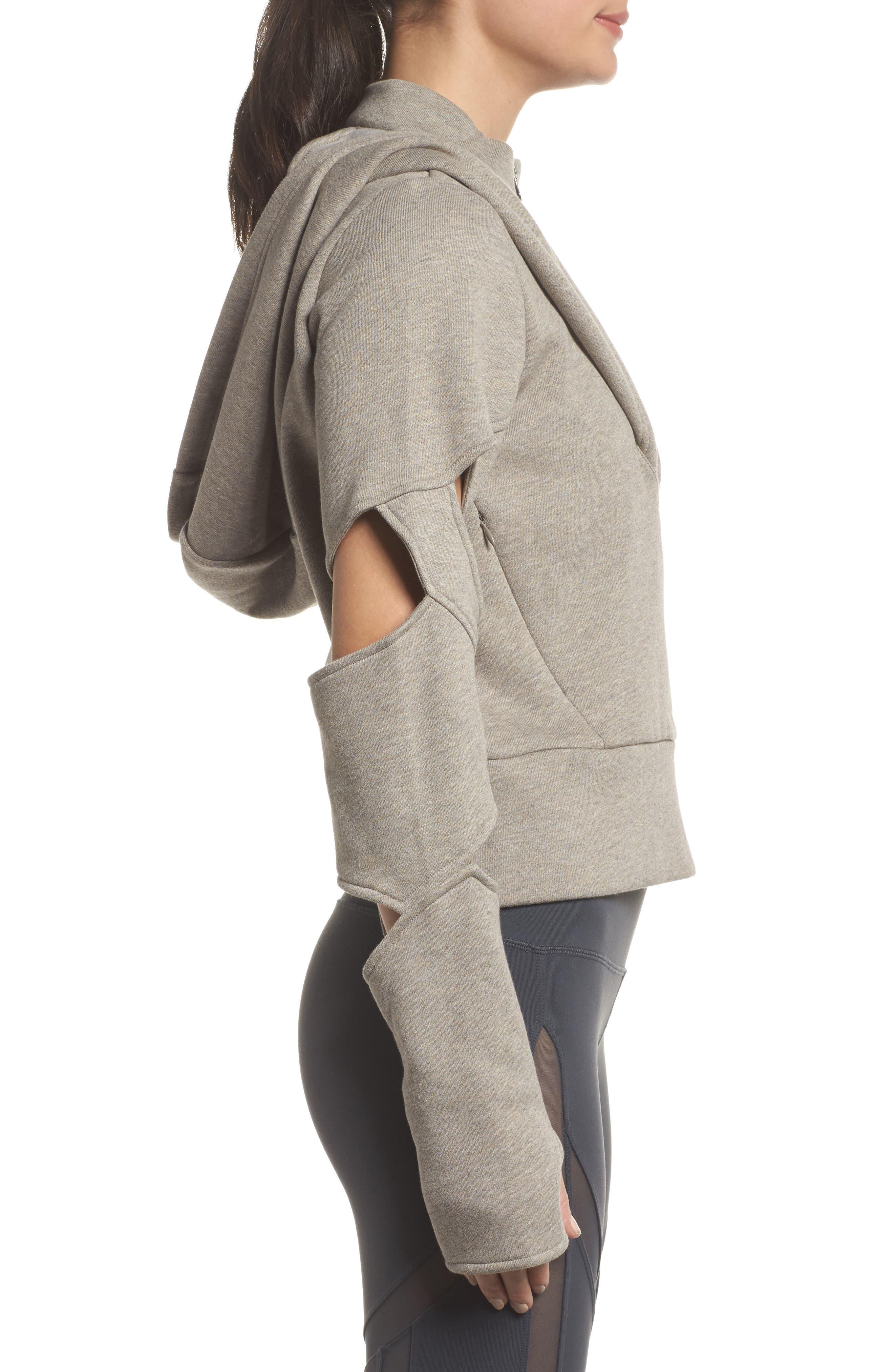 Alternate Image 3  - Alo Mix Hooded Jacket