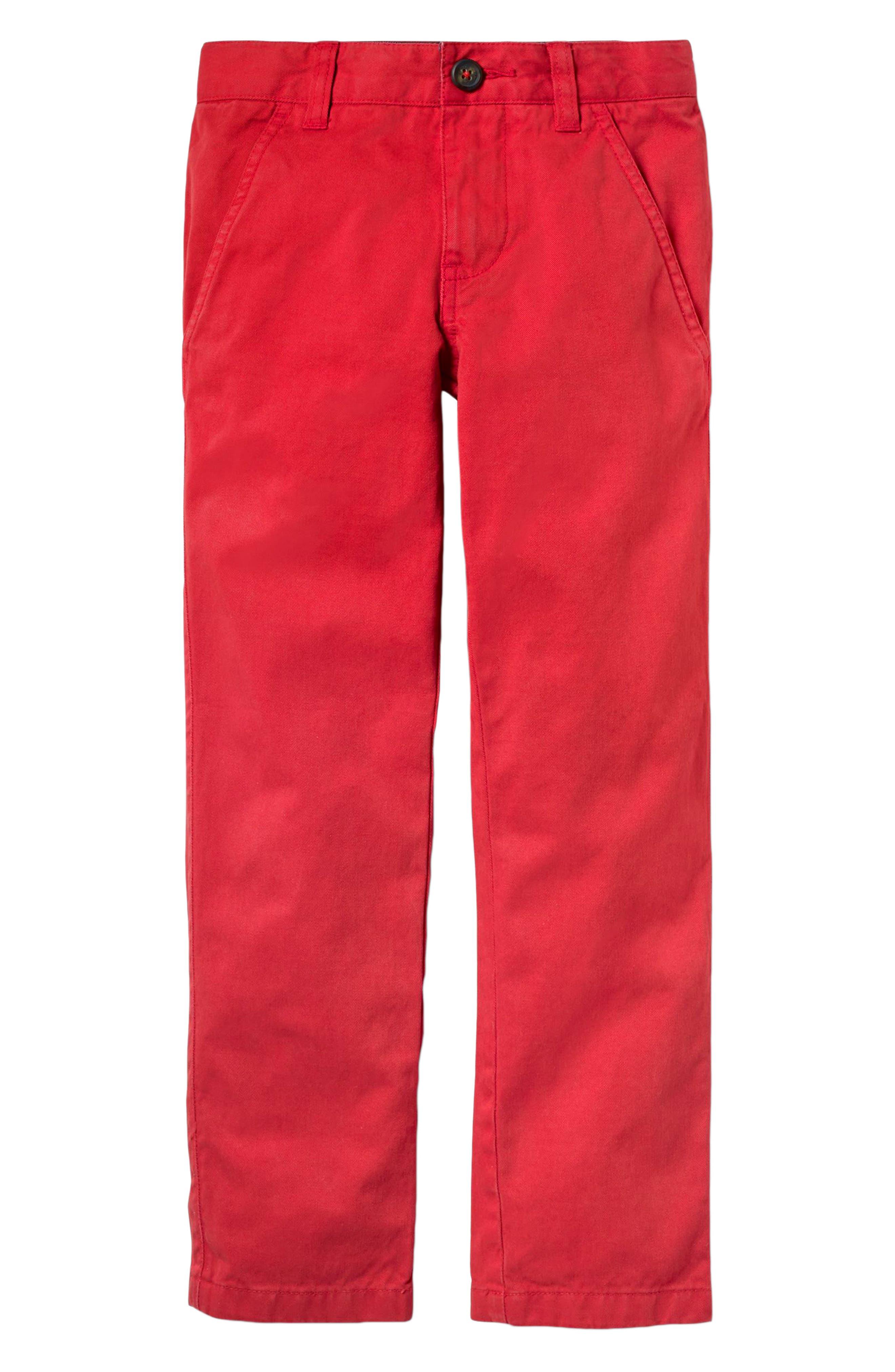 Chino Pants,                         Main,                         color, Salsa Red
