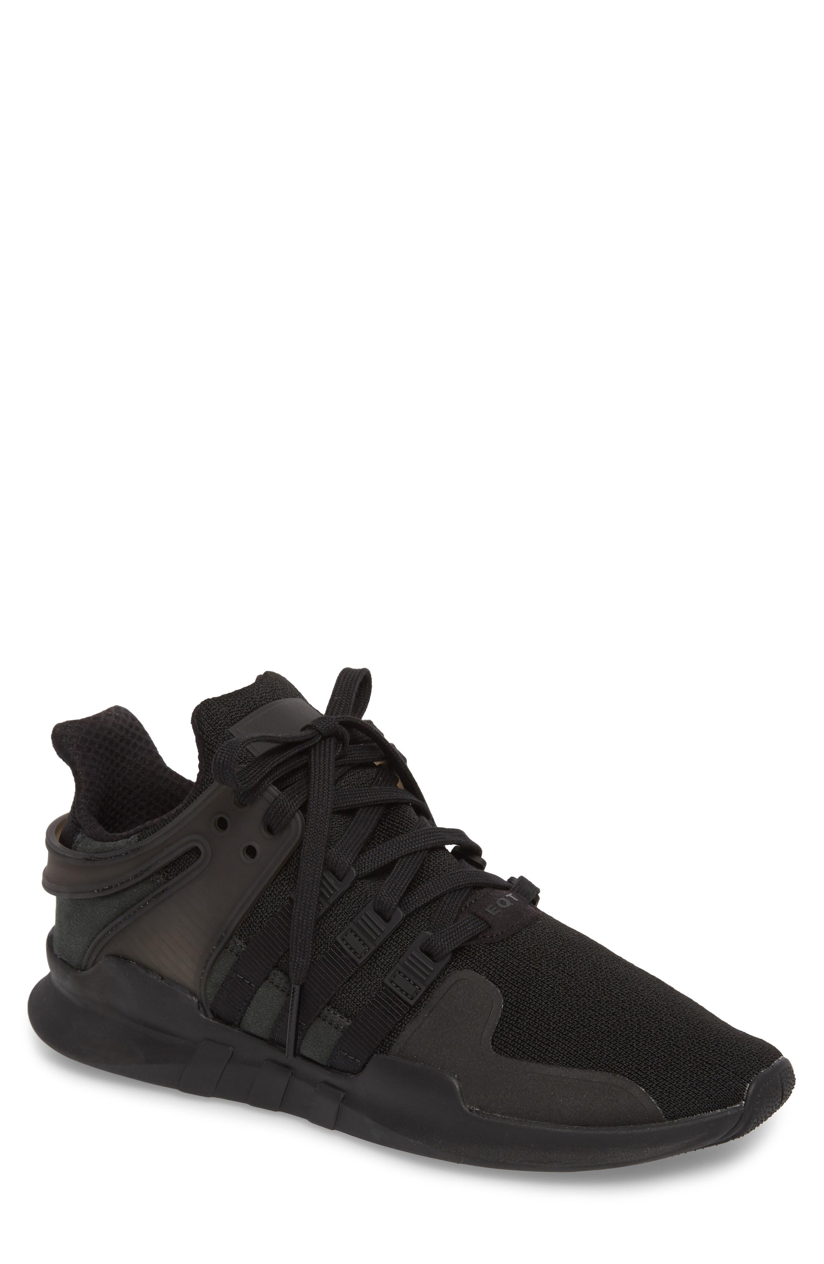 EQT Support Adv Sneaker,                         Main,                         color, Core Black / Black / White