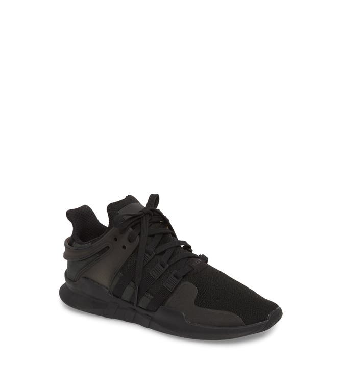 ADIDAS EQT SUPPORT 93/17 TRIPLE BLACK SIZE US.10 Men's
