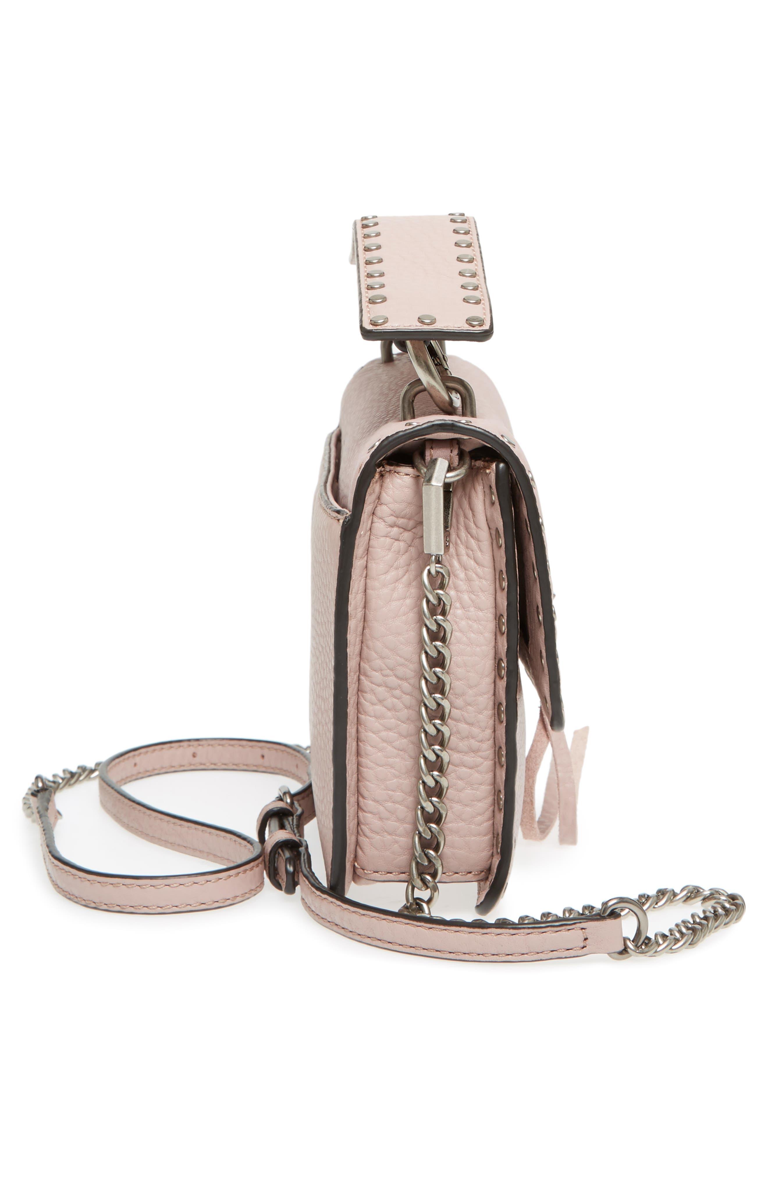 Darren Top Handle Crossbody Bag,                             Alternate thumbnail 4, color,                             Vintage Pink