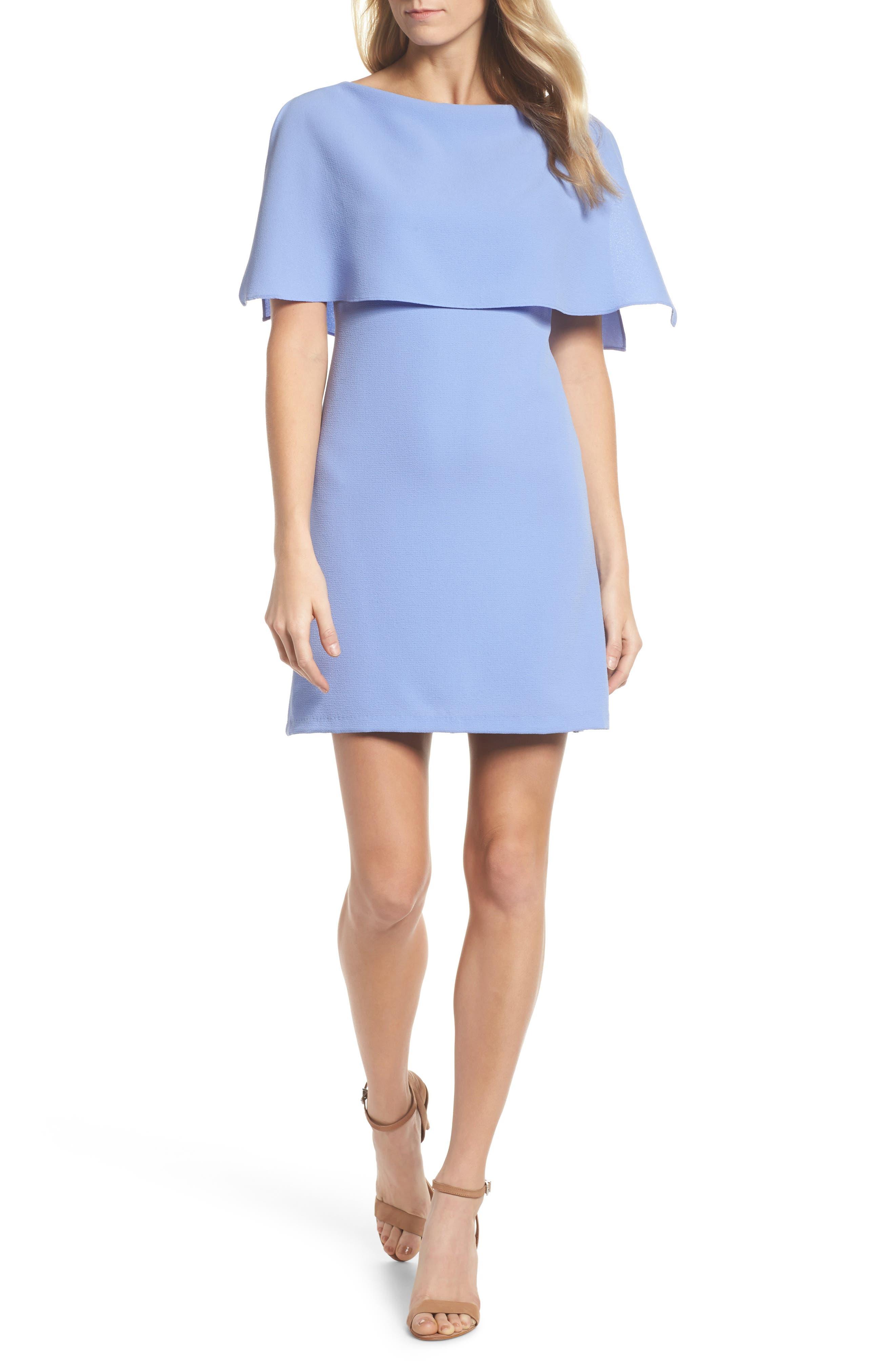 Alternate Image 1 Selected - Adrianna Papell Split Sleeve Sheath Dress
