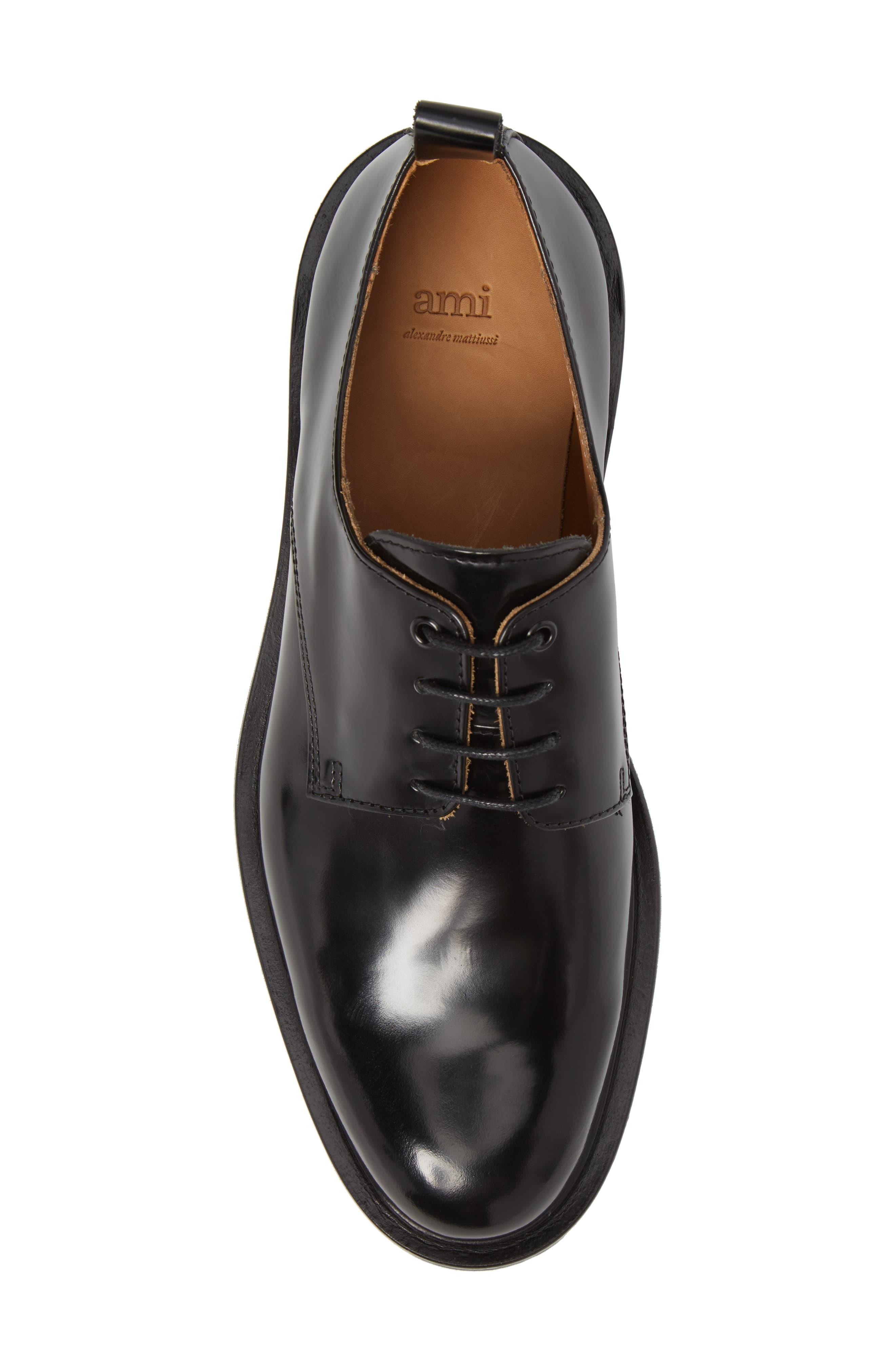 Alternate Image 4  - AMI Alexandre Mattiussi Plain Toe Derby (Men)
