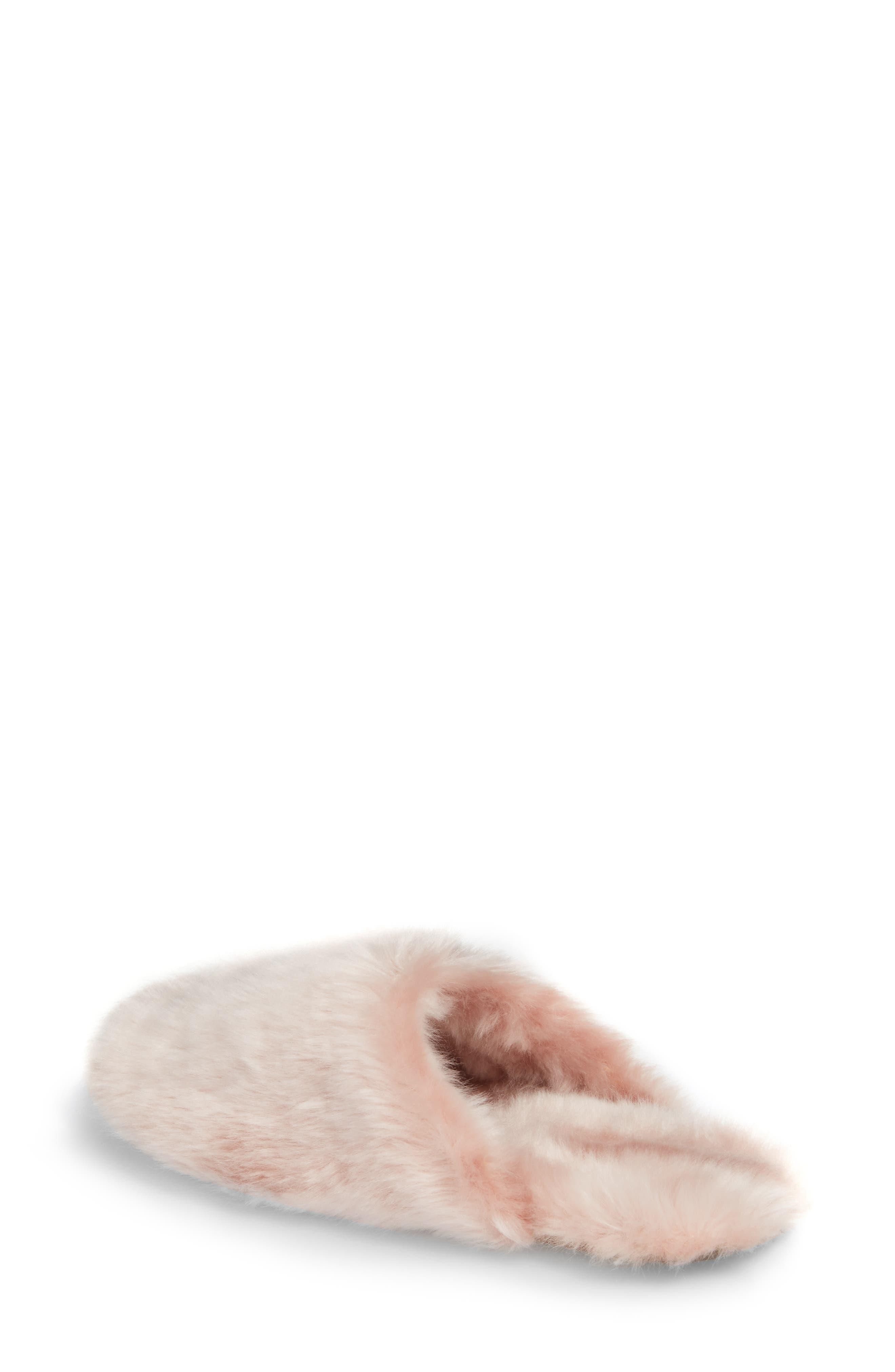 Alternate Image 2  - J.Crew Faux Fur Slipper (Women)