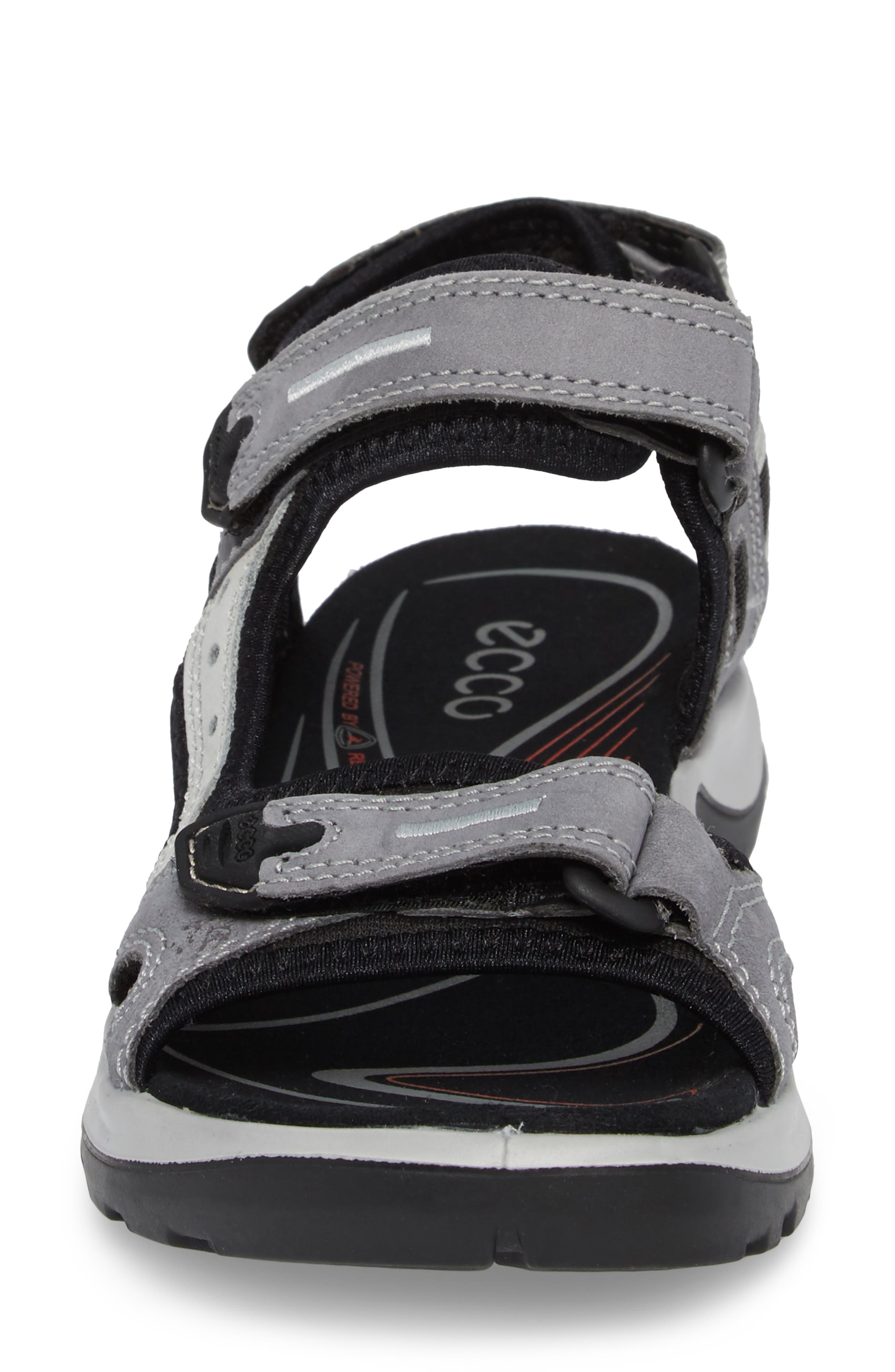 Yucatan Sandal,                             Alternate thumbnail 4, color,                             Titanium Leather