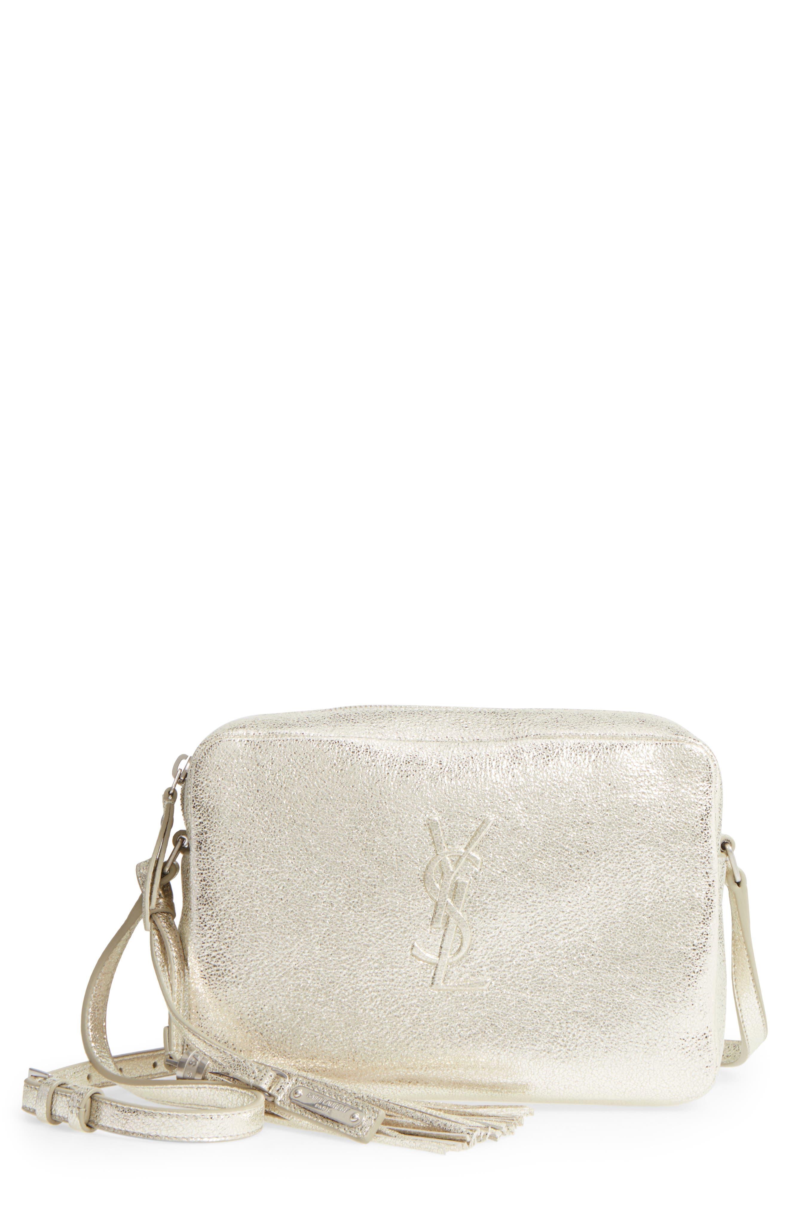 Main Image - Saint Laurent Medium Lou Leather Camera Bag