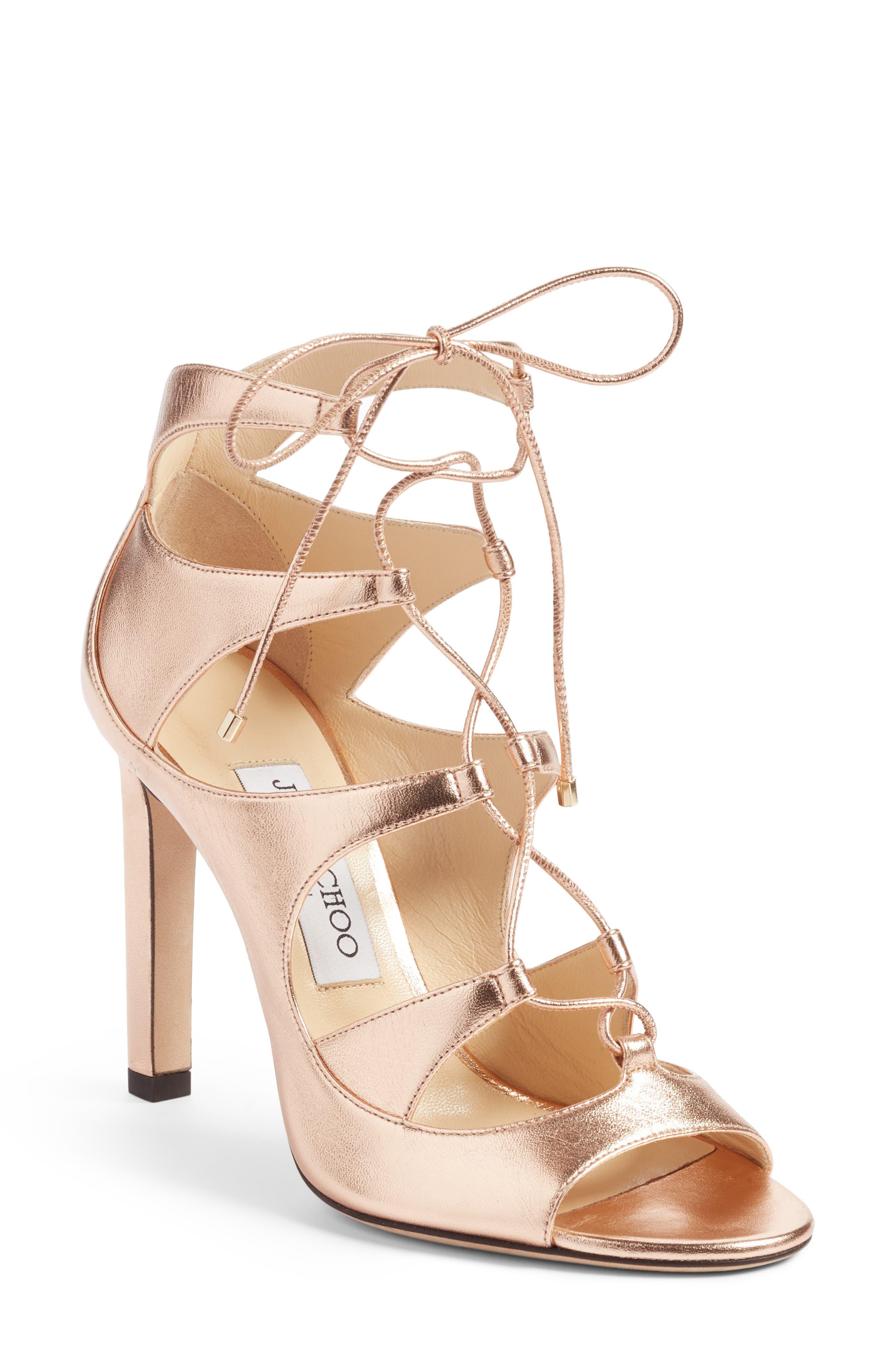 Jimmy Choo Blake Lace-Up Sandal (Women)