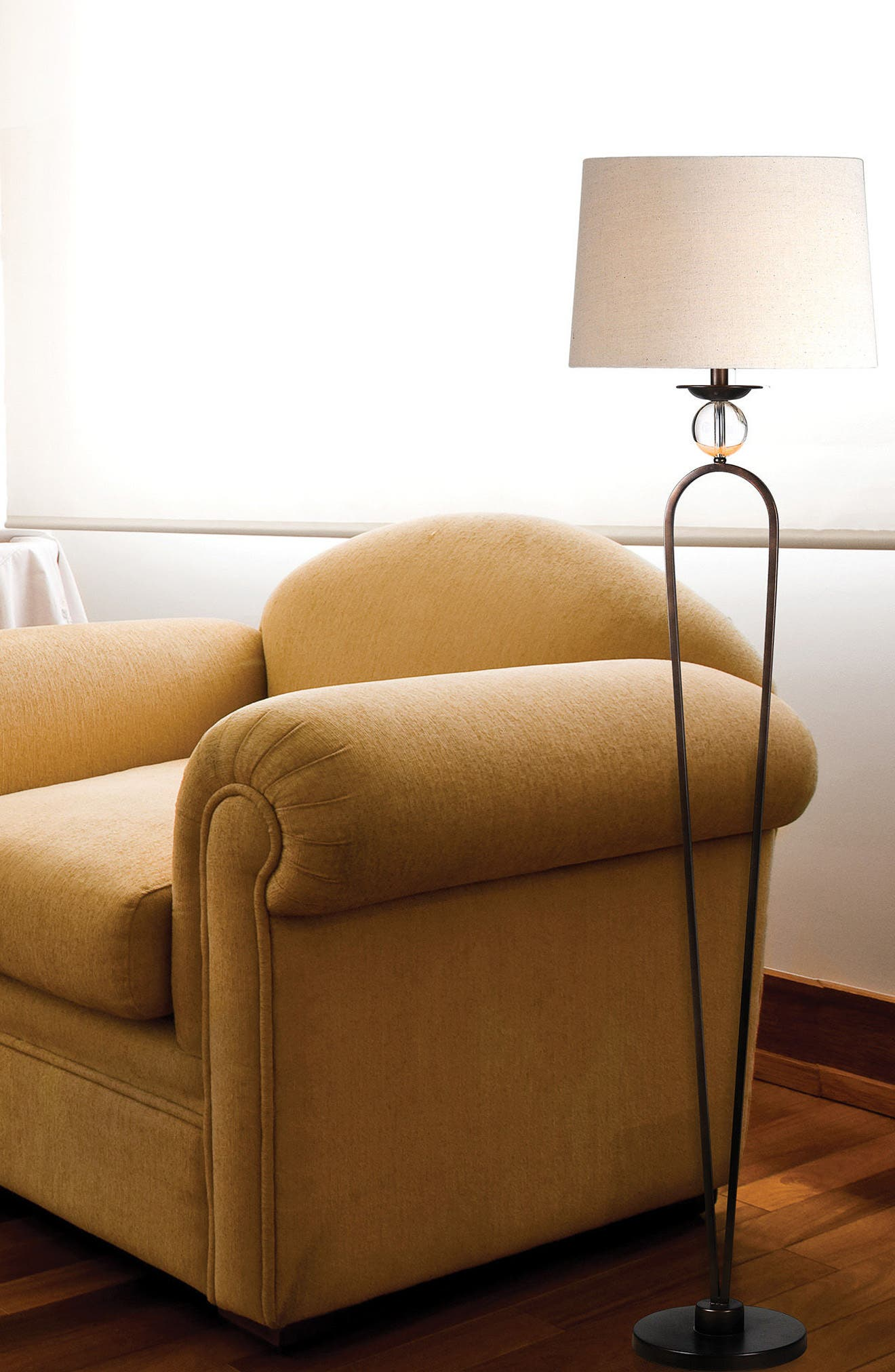 Pembroke Floor Lamp,                             Alternate thumbnail 2, color,                             Bronze