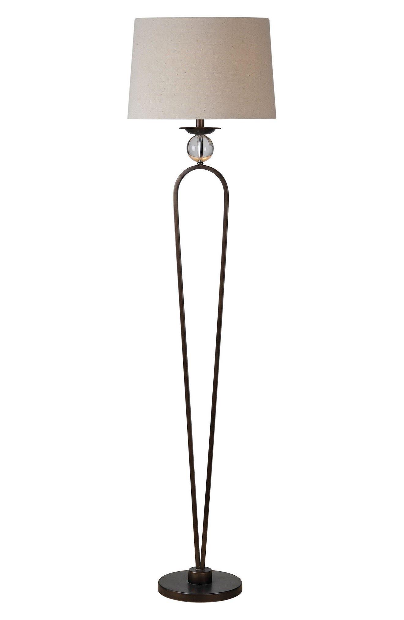 Pembroke Floor Lamp,                             Main thumbnail 1, color,                             Bronze