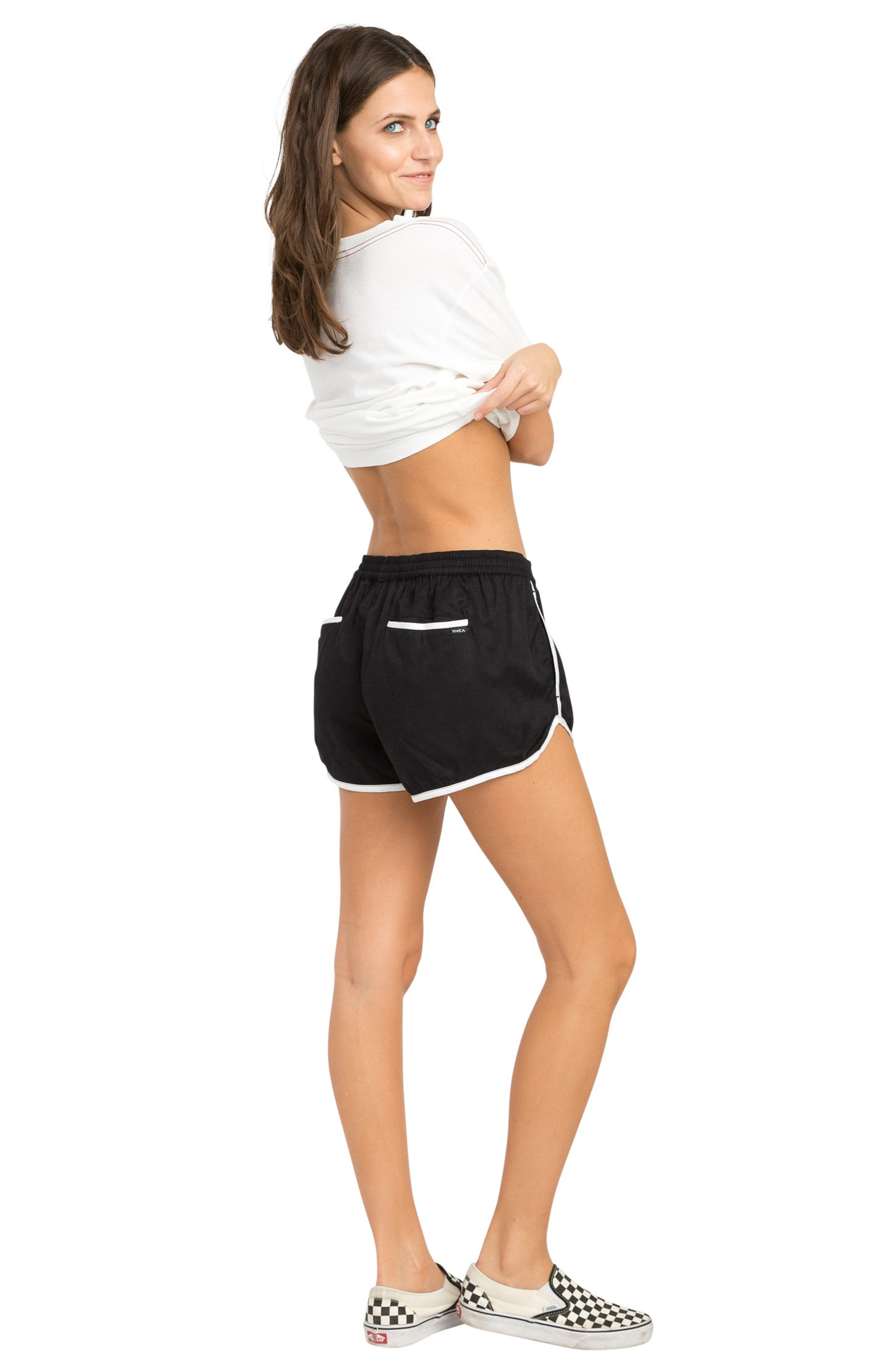 Cruising Dolphin Shorts,                             Alternate thumbnail 2, color,                             Black