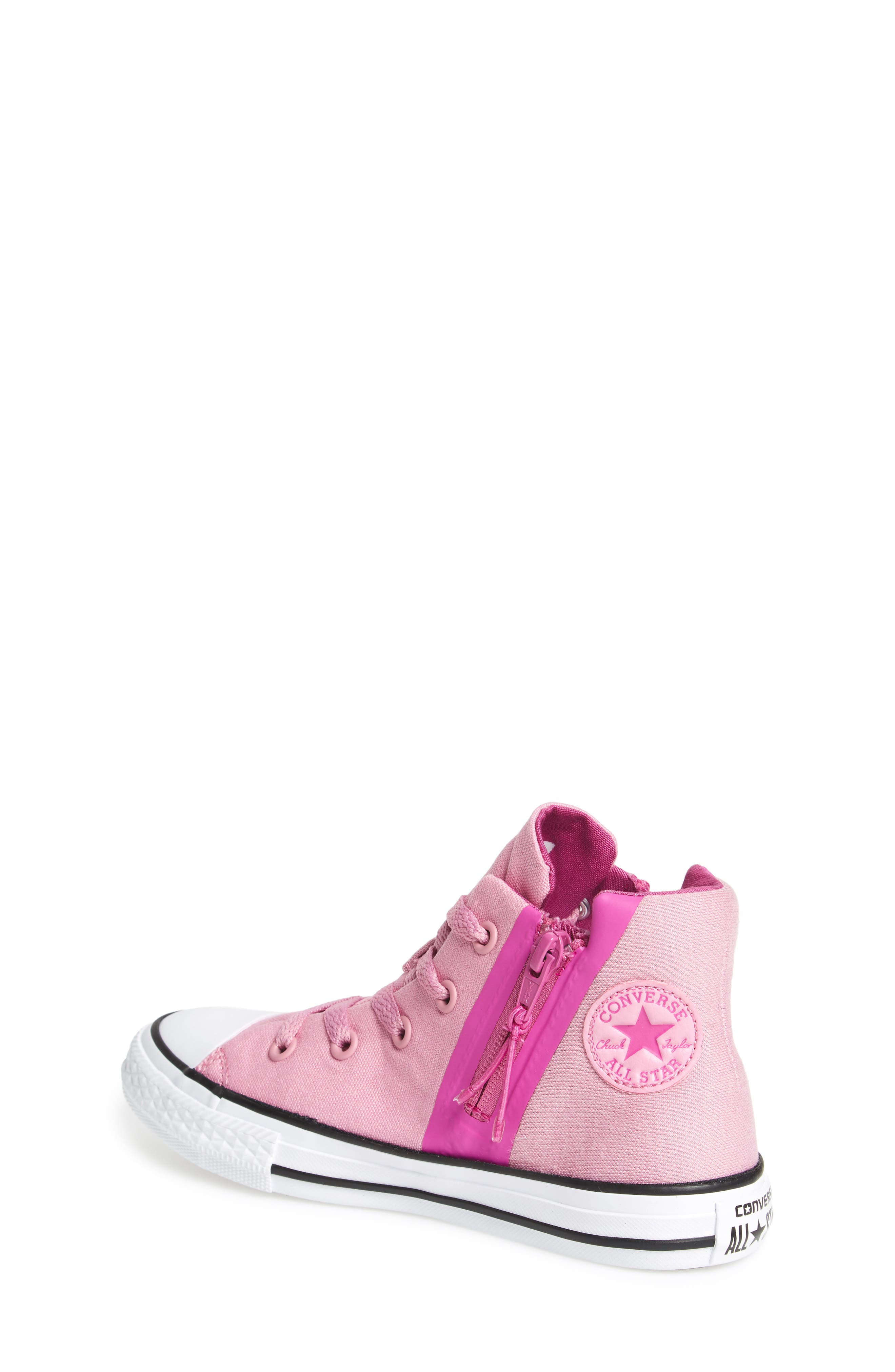 Alternate Image 2  - Converse Chuck Taylor® All Star® Sport Zip High Top Sneaker (Toddler, Little Kid & Big Kid)