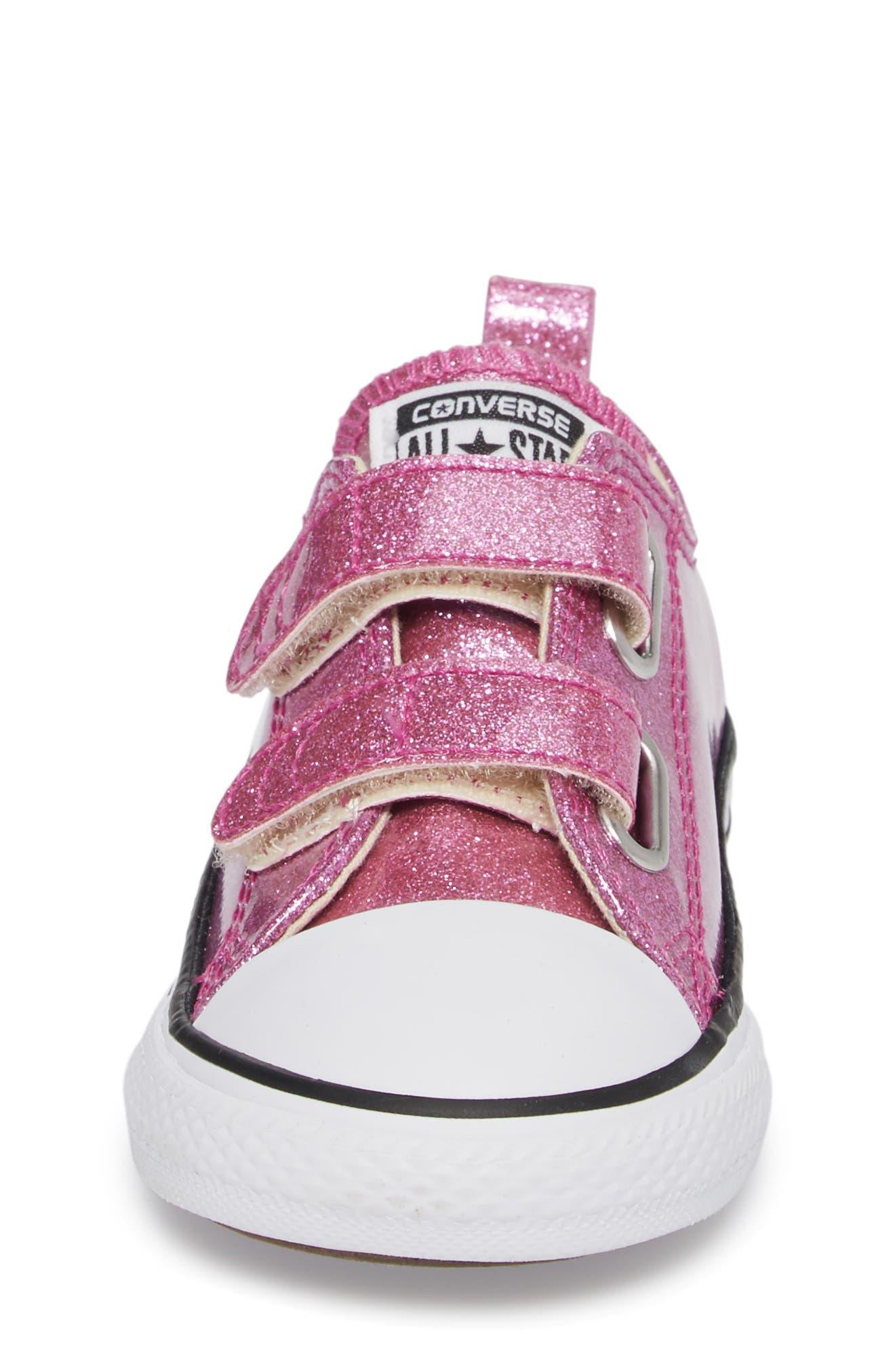 All Star<sup>®</sup> Seasonal Glitter Sneaker,                             Alternate thumbnail 4, color,                             Bright Violet