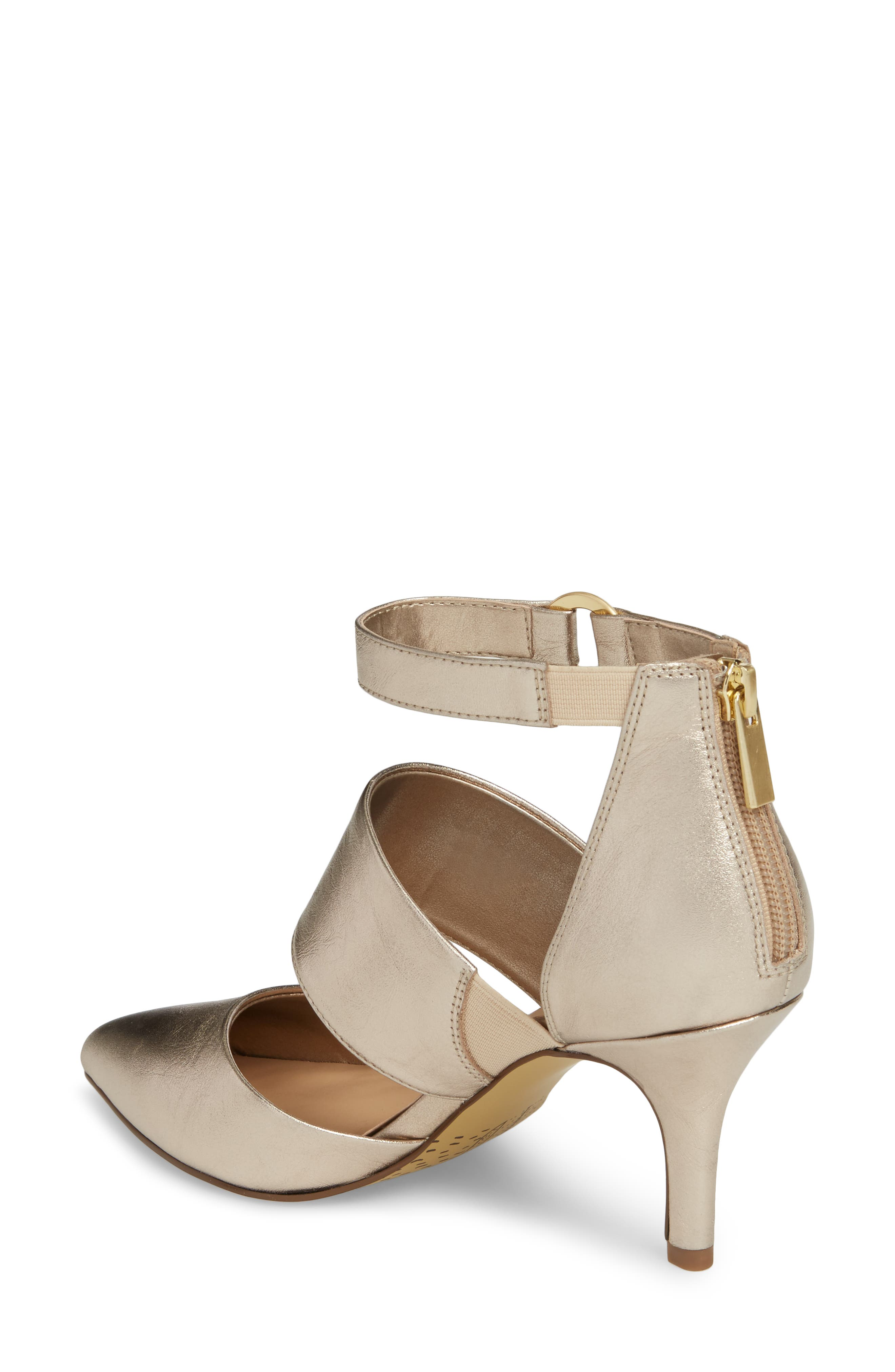 Diana Pump,                             Alternate thumbnail 2, color,                             Champagne Leather