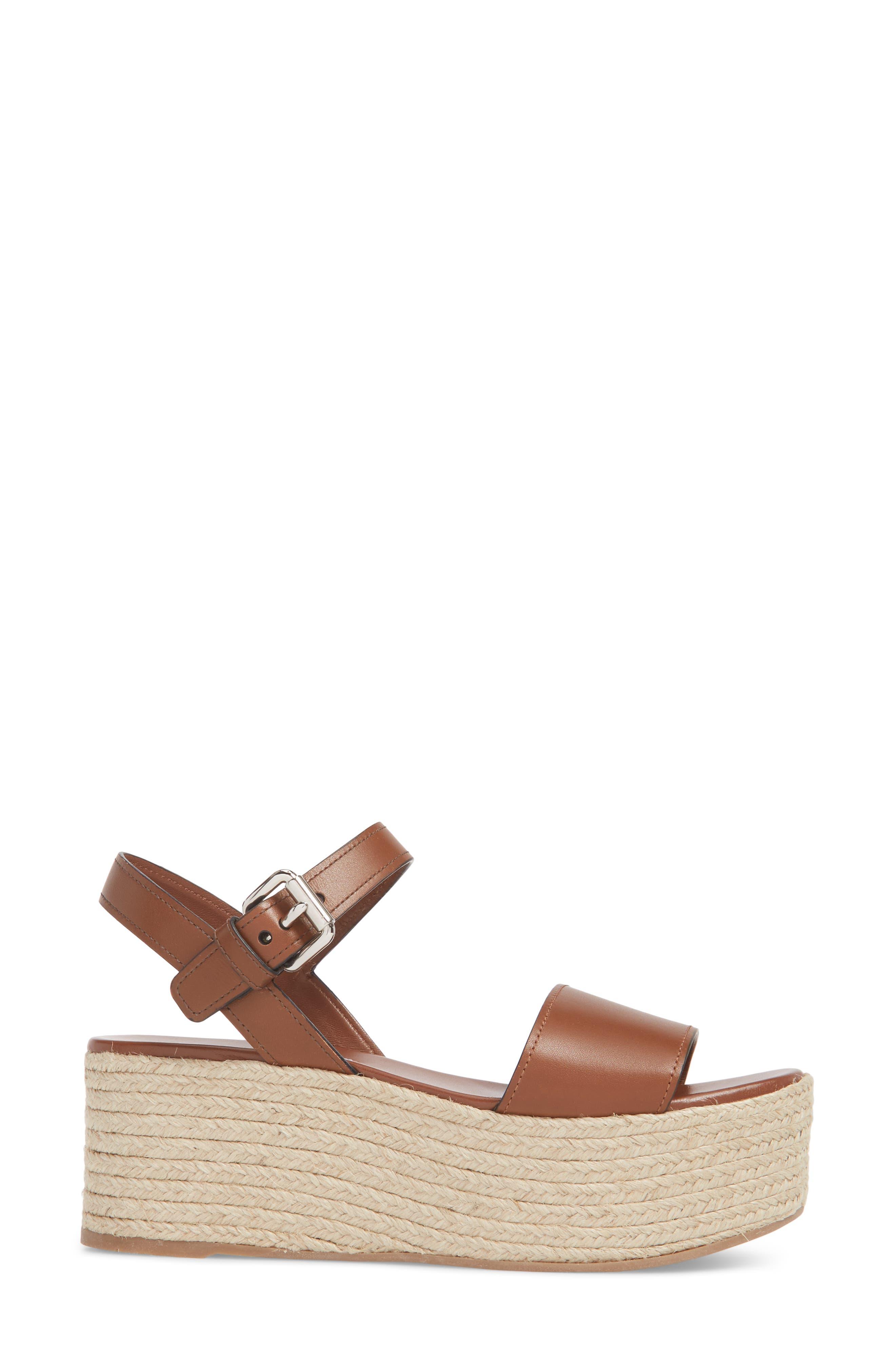 Alternate Image 3  - Prada Platform Espadrille Sandal (Women)