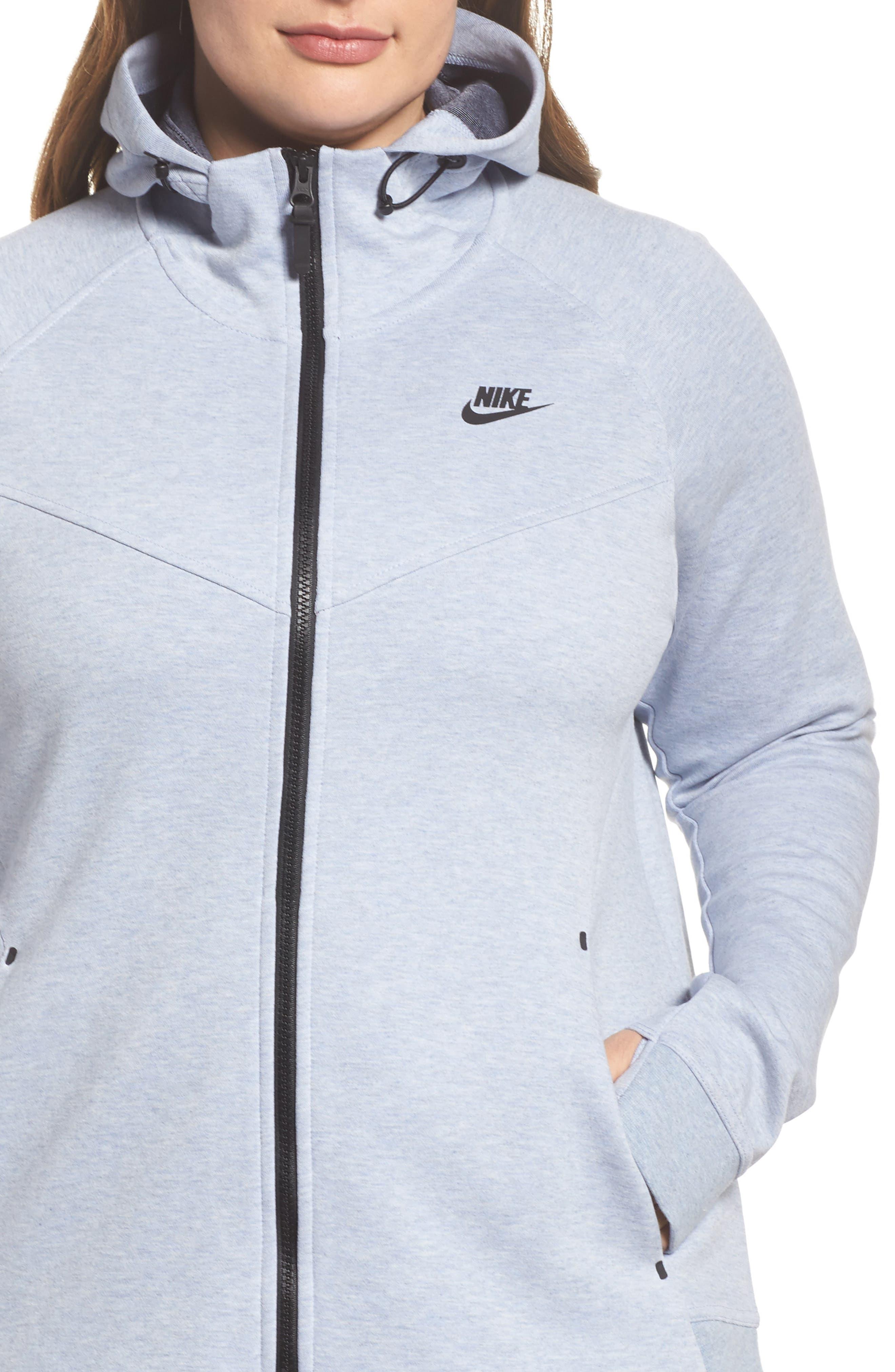 Alternate Image 4  - Nike Tech Fleece Hoodie (Plus Size)