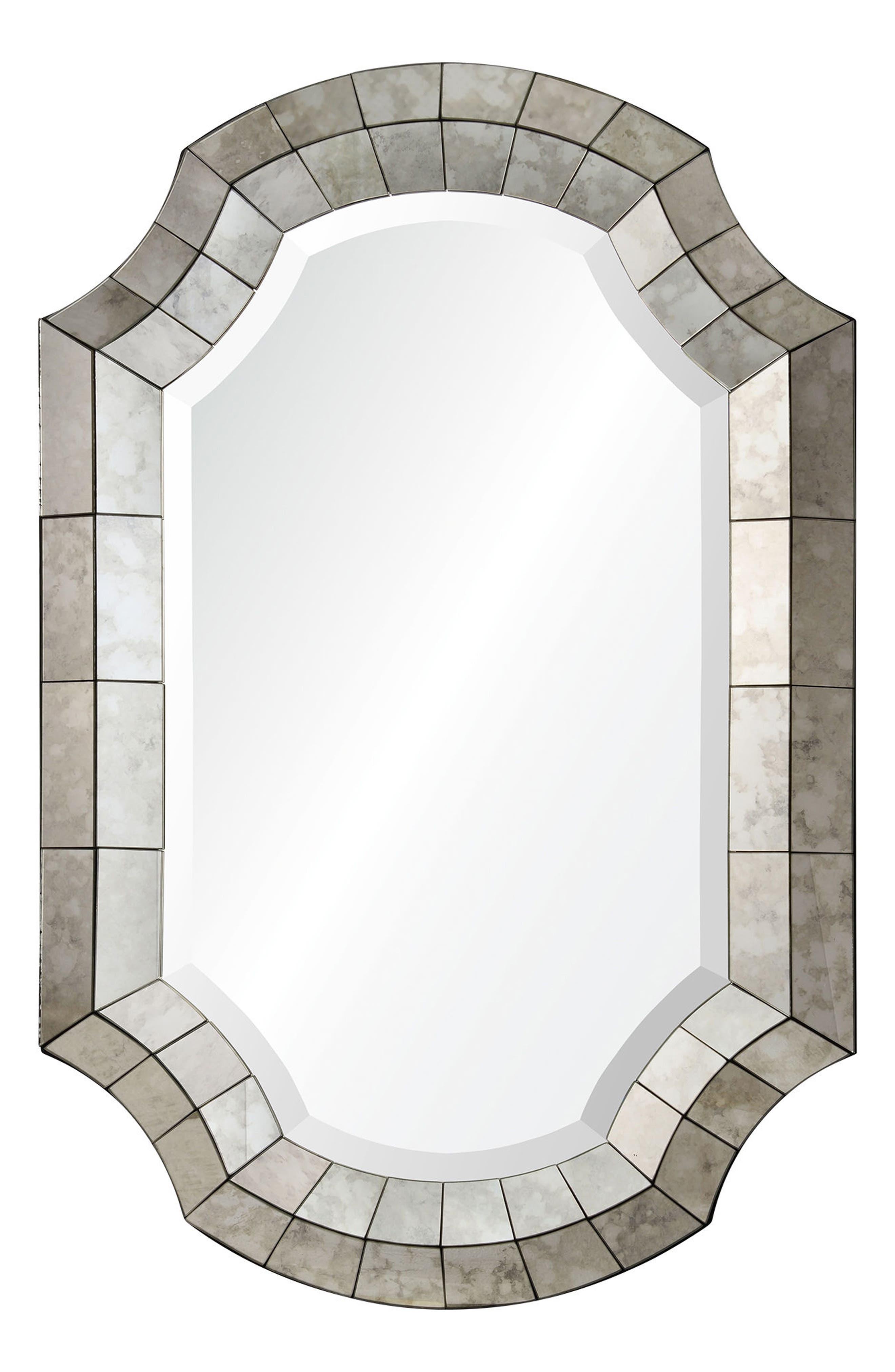 Clarke Mirror,                             Main thumbnail 1, color,                             Antique Mirror