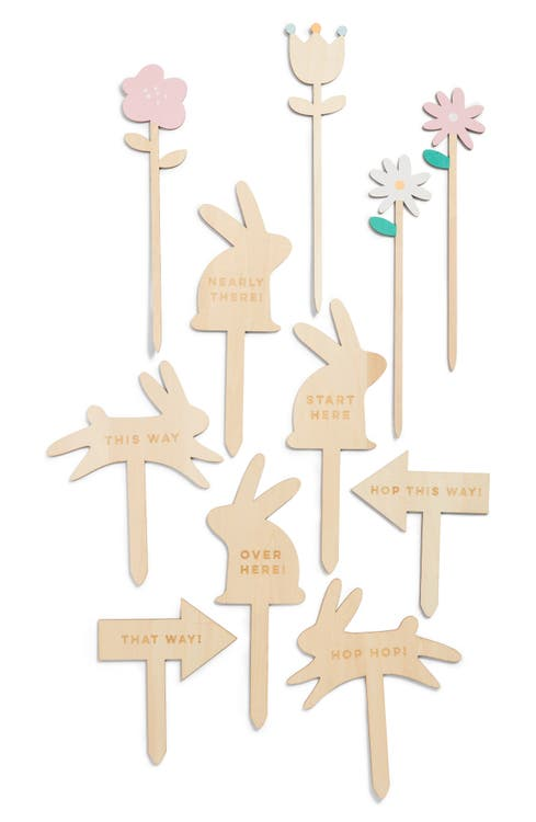 Main Image - Meri Meri 11-Piece Wooden Easter Egg Hunt Kit