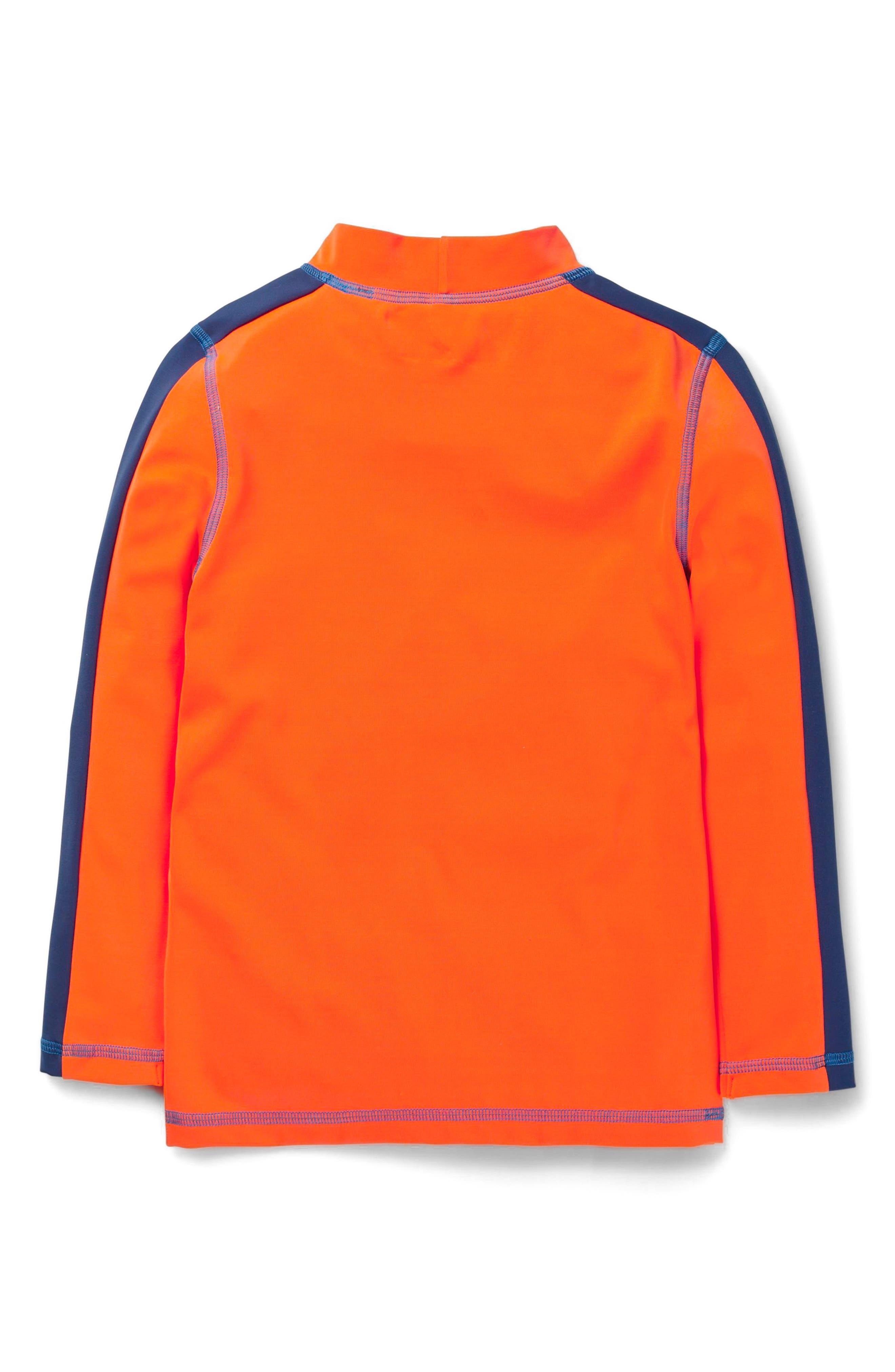 Rashguard,                             Alternate thumbnail 2, color,                             Kool Aid Orange