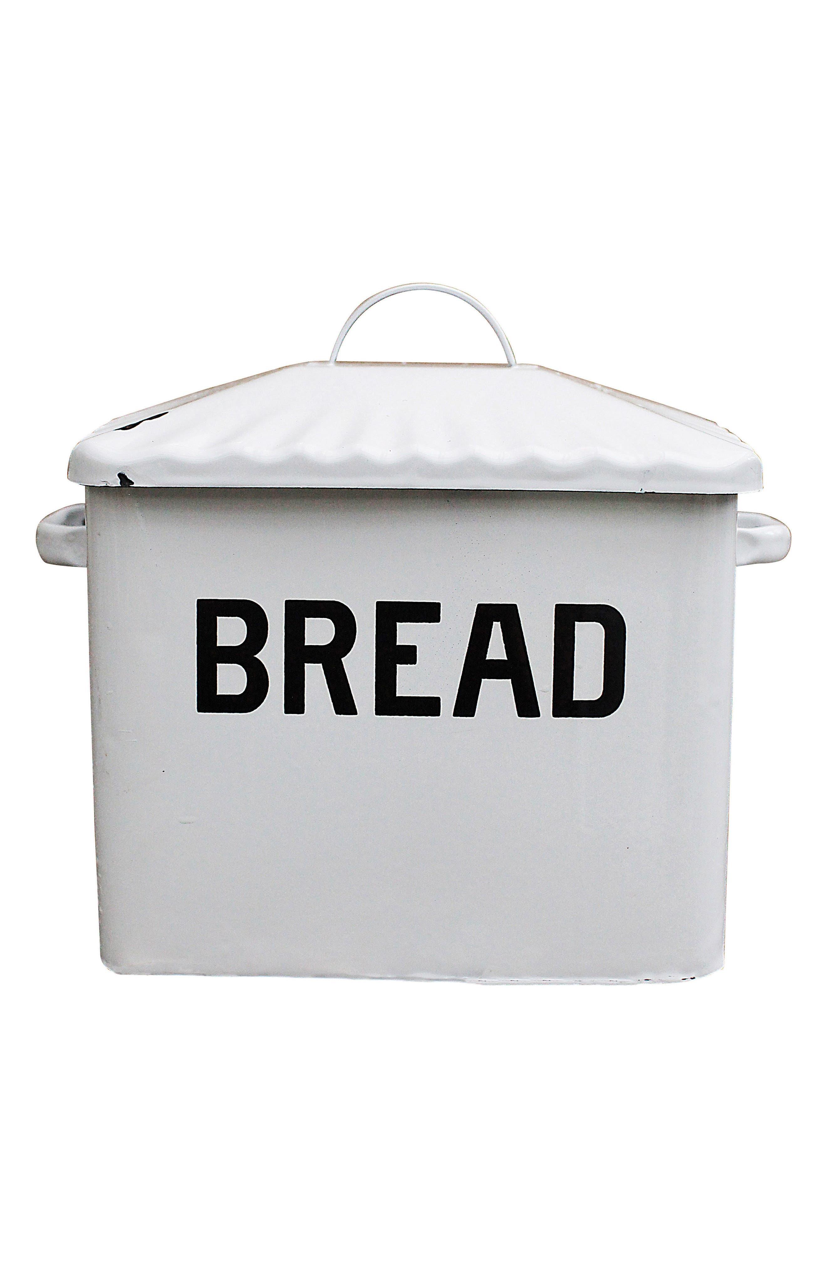 Bread Box,                         Main,                         color, White