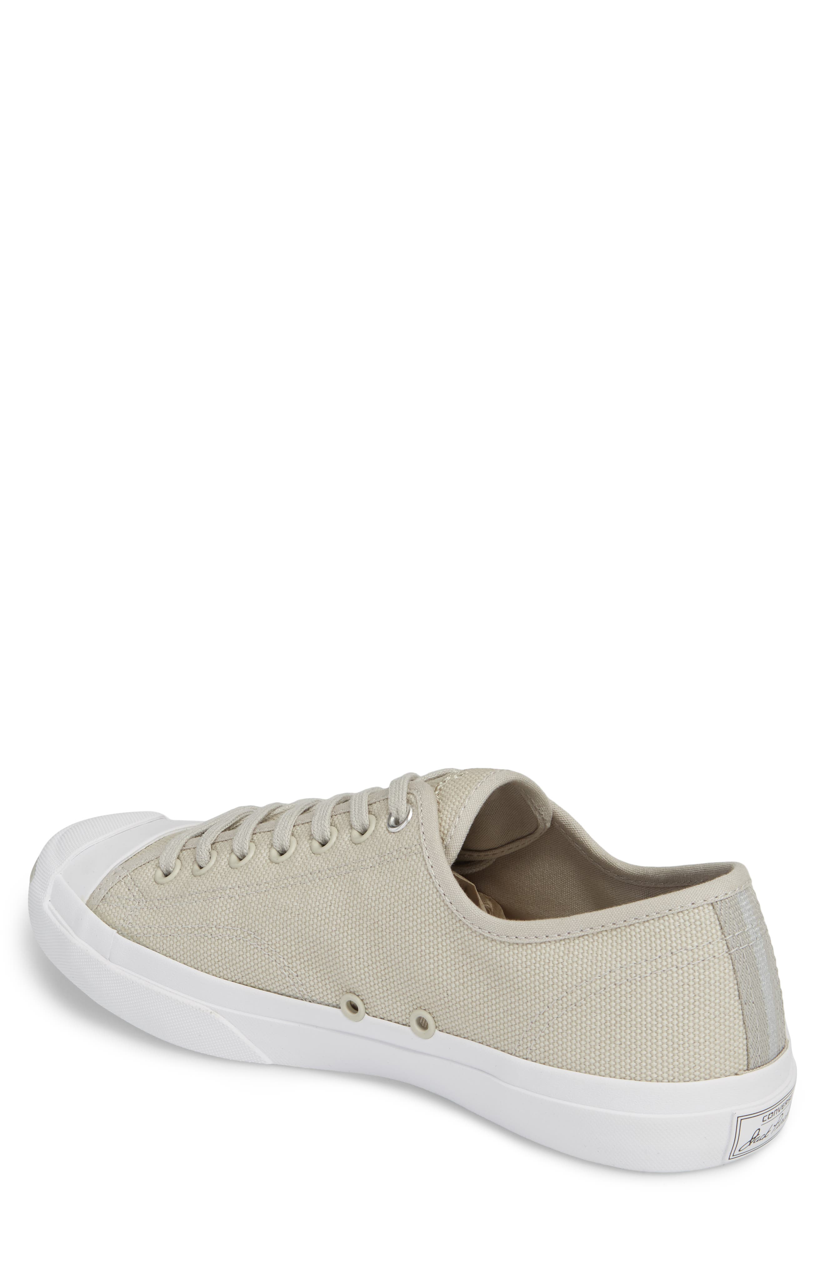 Jack Purcell Sneaker,                             Alternate thumbnail 2, color,                             Pale Grey Canvas