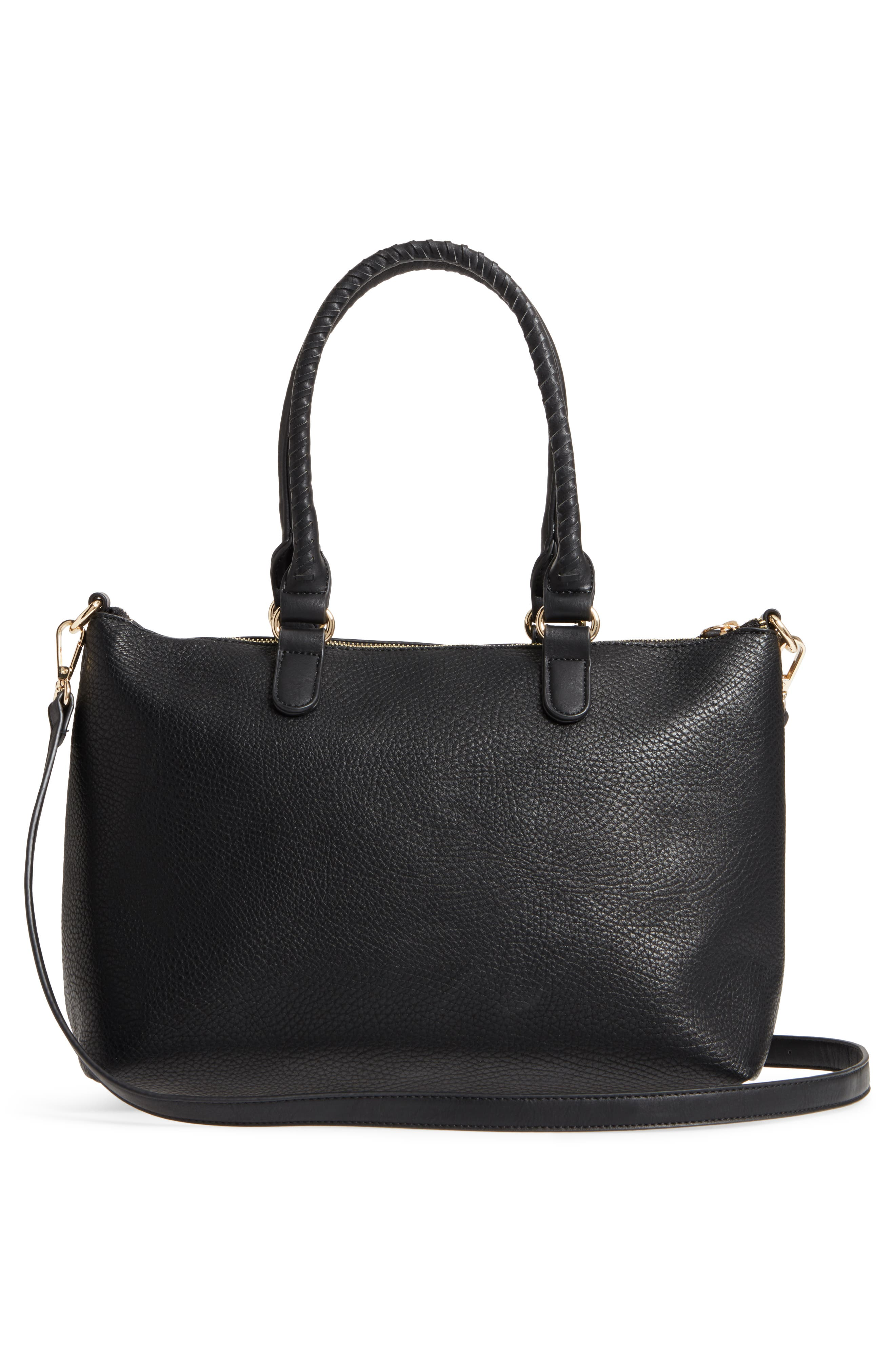 Alternate Image 3  - Sole Society Girard Faux Leather Satchel
