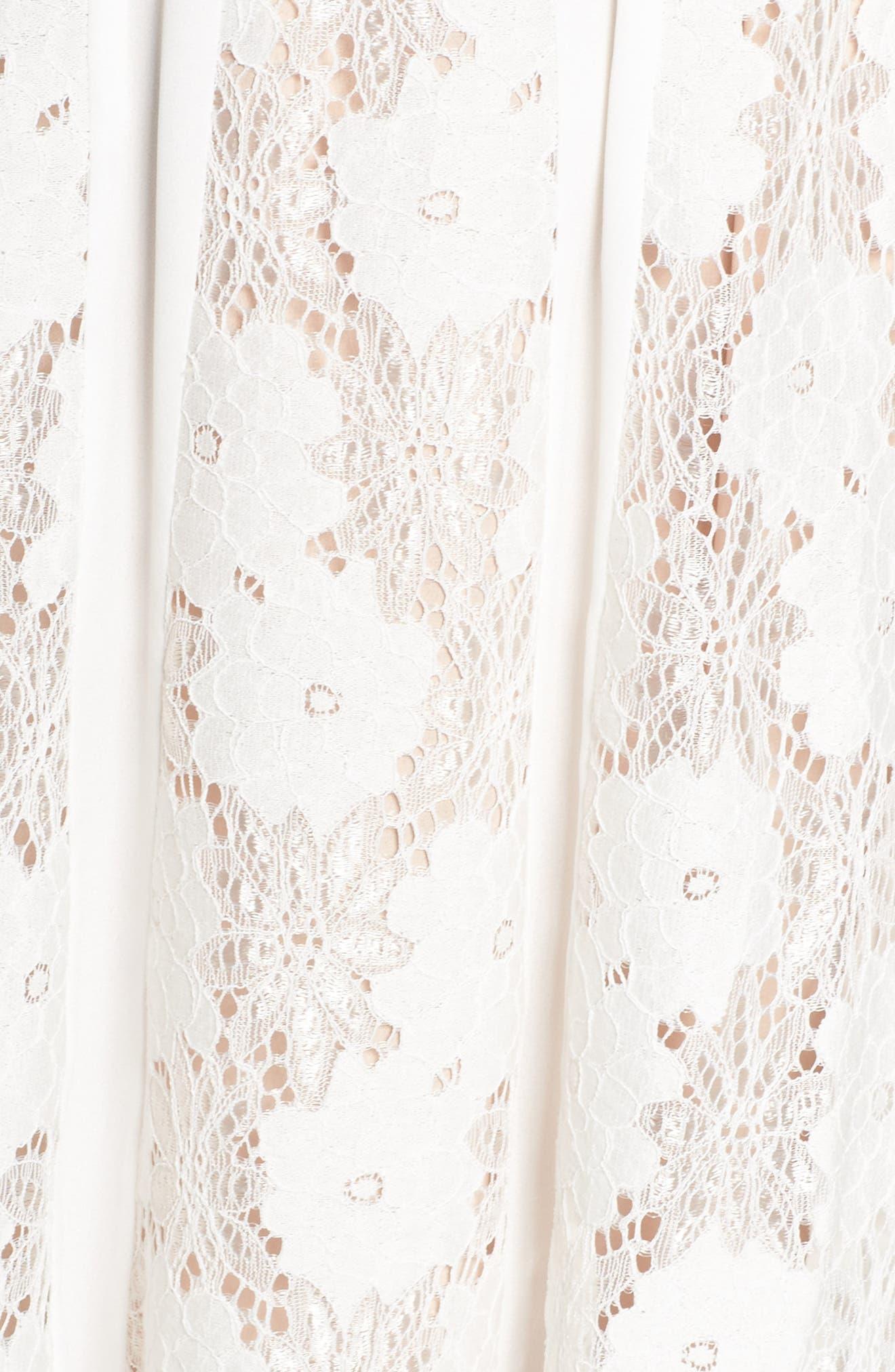 Alternate Image 5  - Chelsea28 Lace Midi Dress