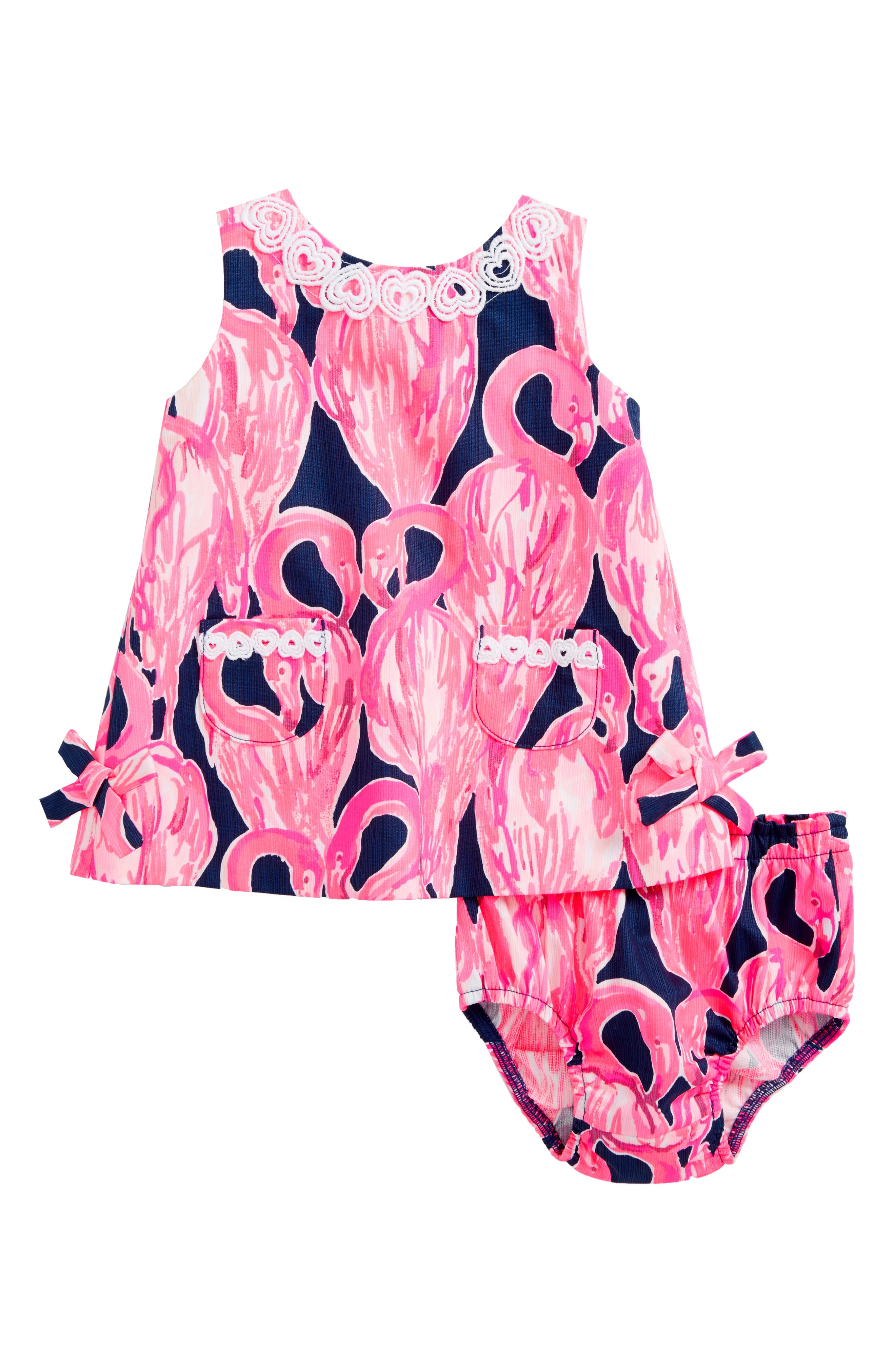 Lilly Shift Dress,                         Main,                         color, High Tide Navy Via Amor