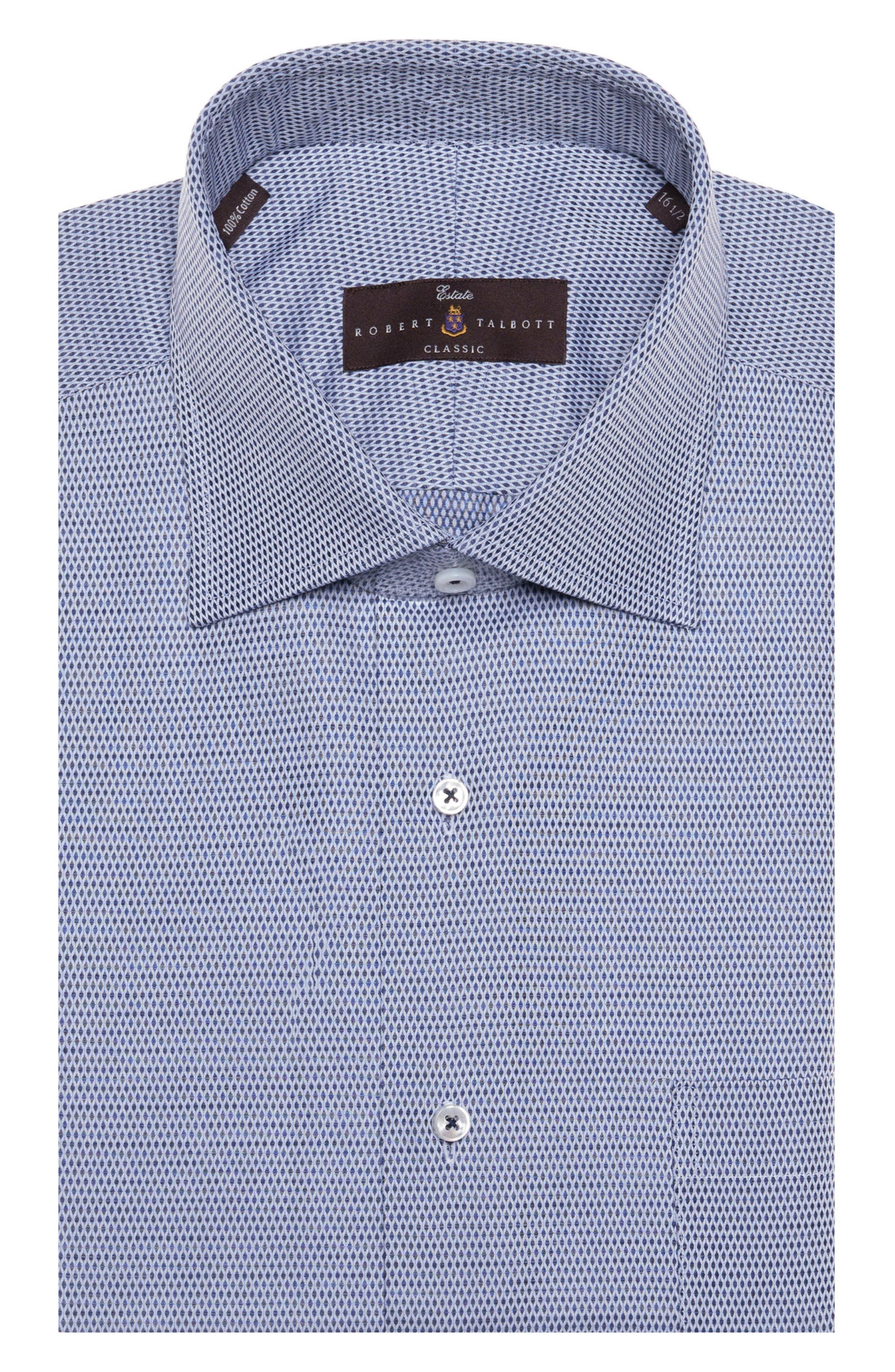 Main Image - Robert Talbott Tailored Fit Geometric Dress Shirt