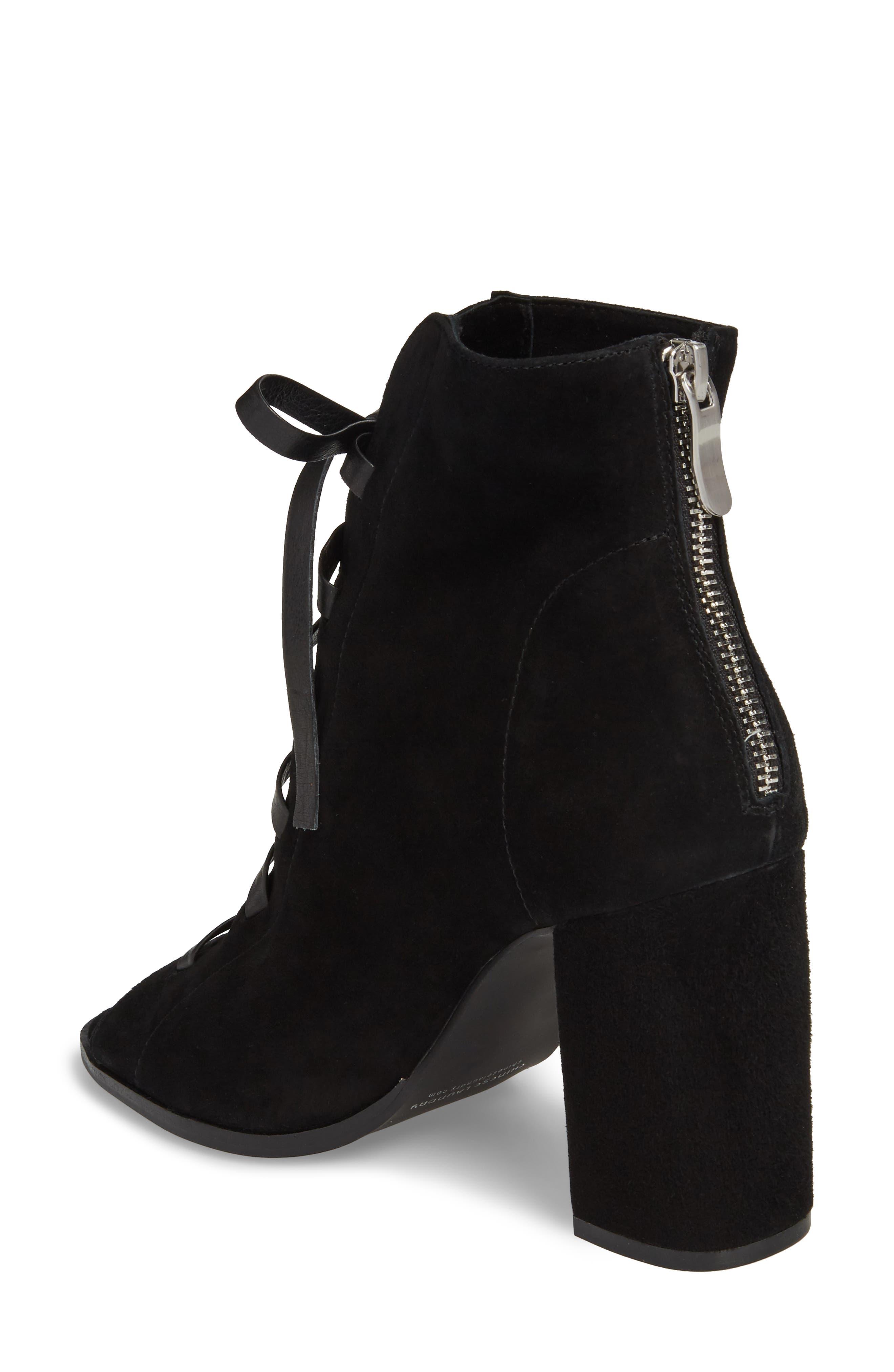 Alternate Image 2  - Kristin Cavallari Layton Lace-Up Boot (Women)
