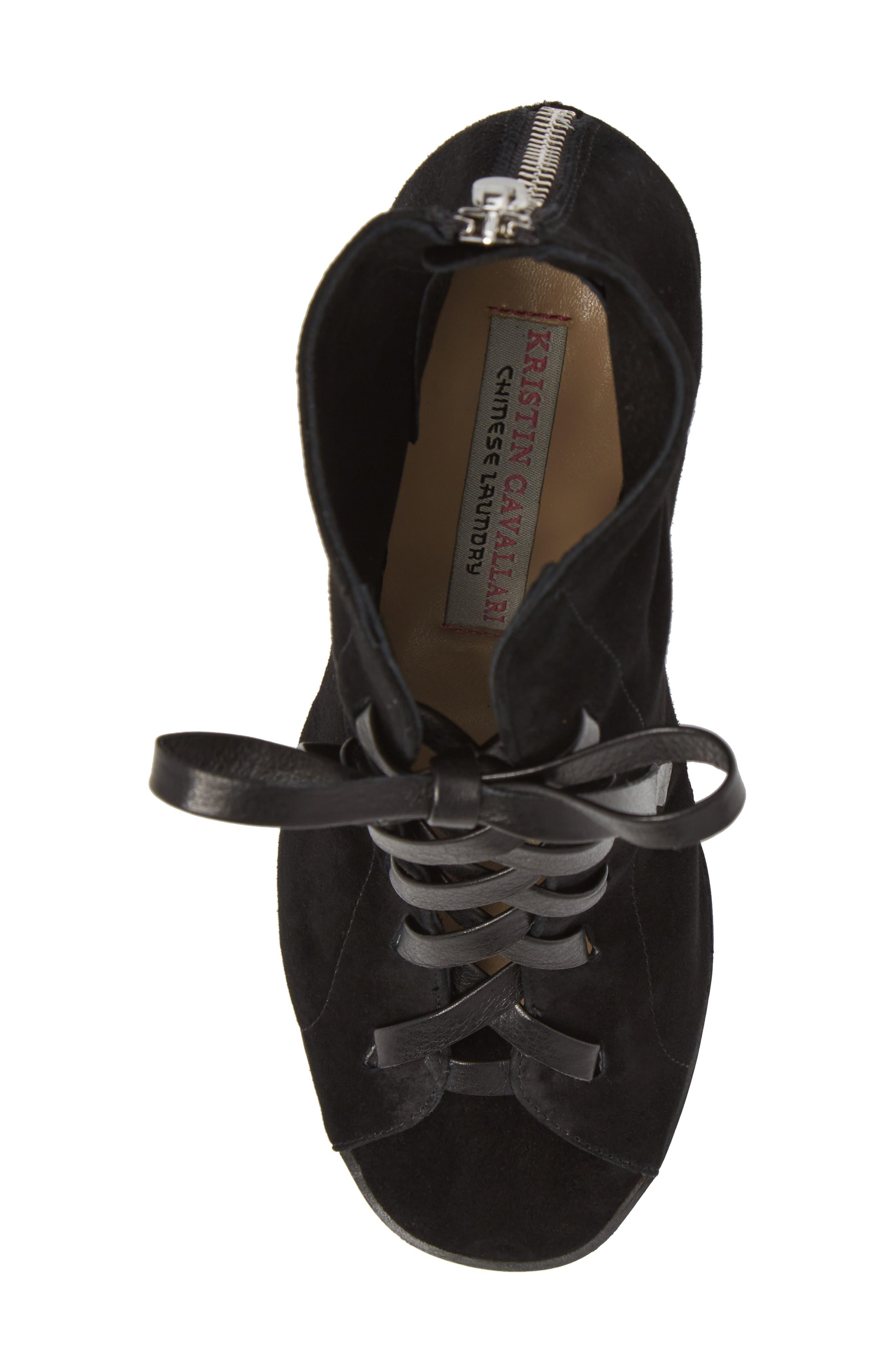 Alternate Image 5  - Kristin Cavallari Layton Lace-Up Boot (Women)