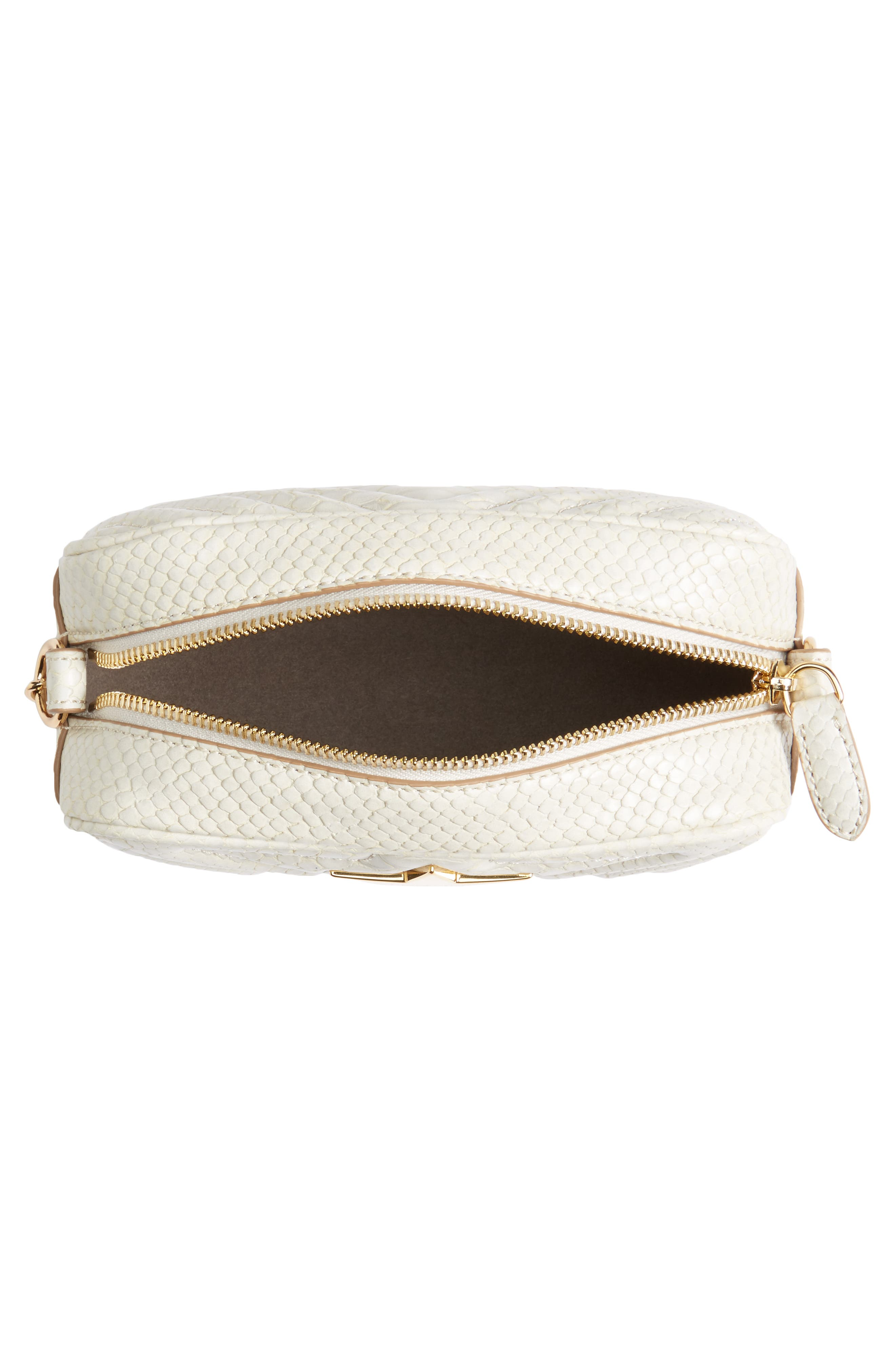 Alternate Image 5  - Stella McCartney Mini Star Quilted Faux Leather Camera Bag