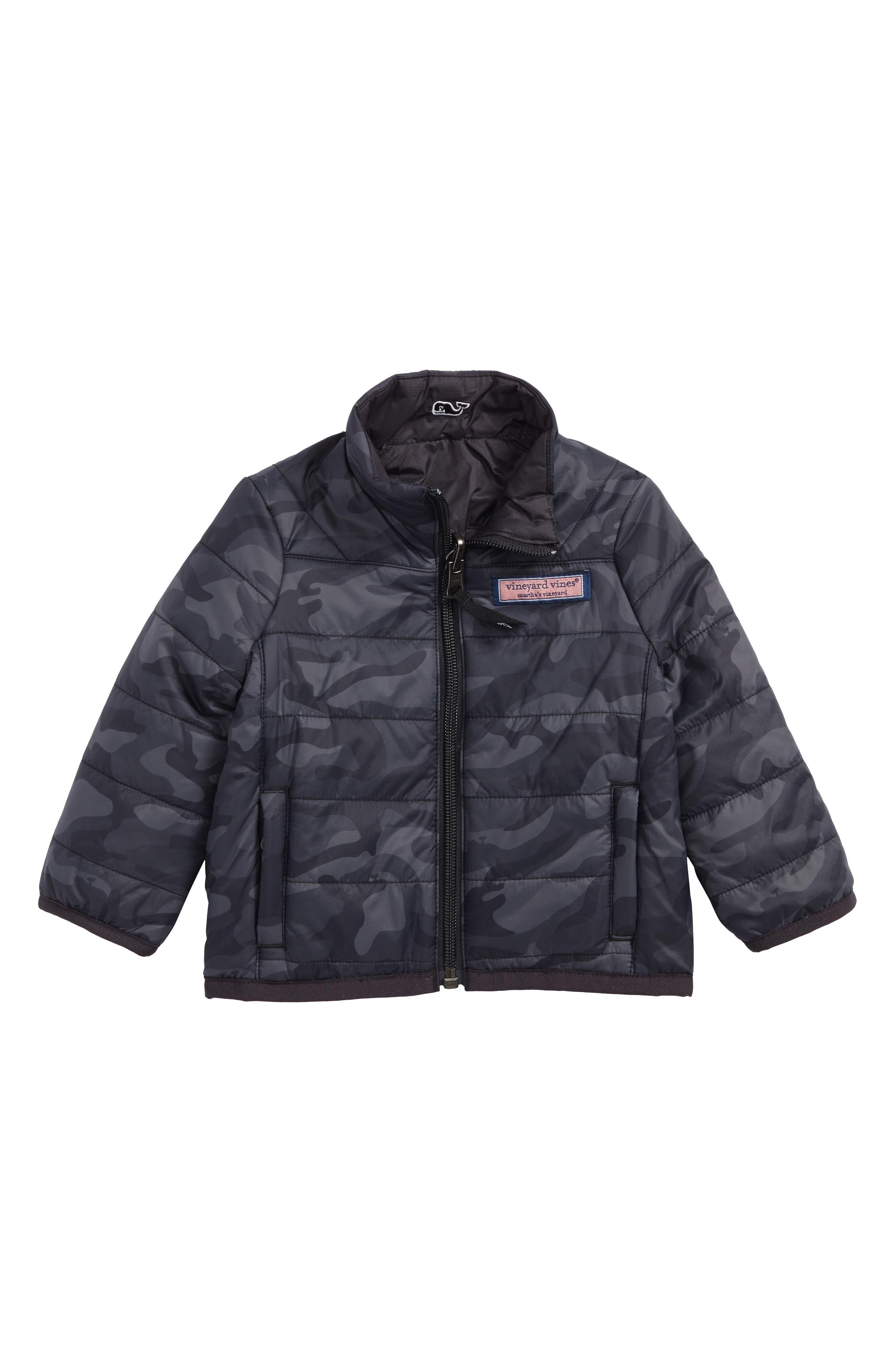 Reversible Mountain Weekend Jacket,                             Main thumbnail 1, color,                             Jet Black