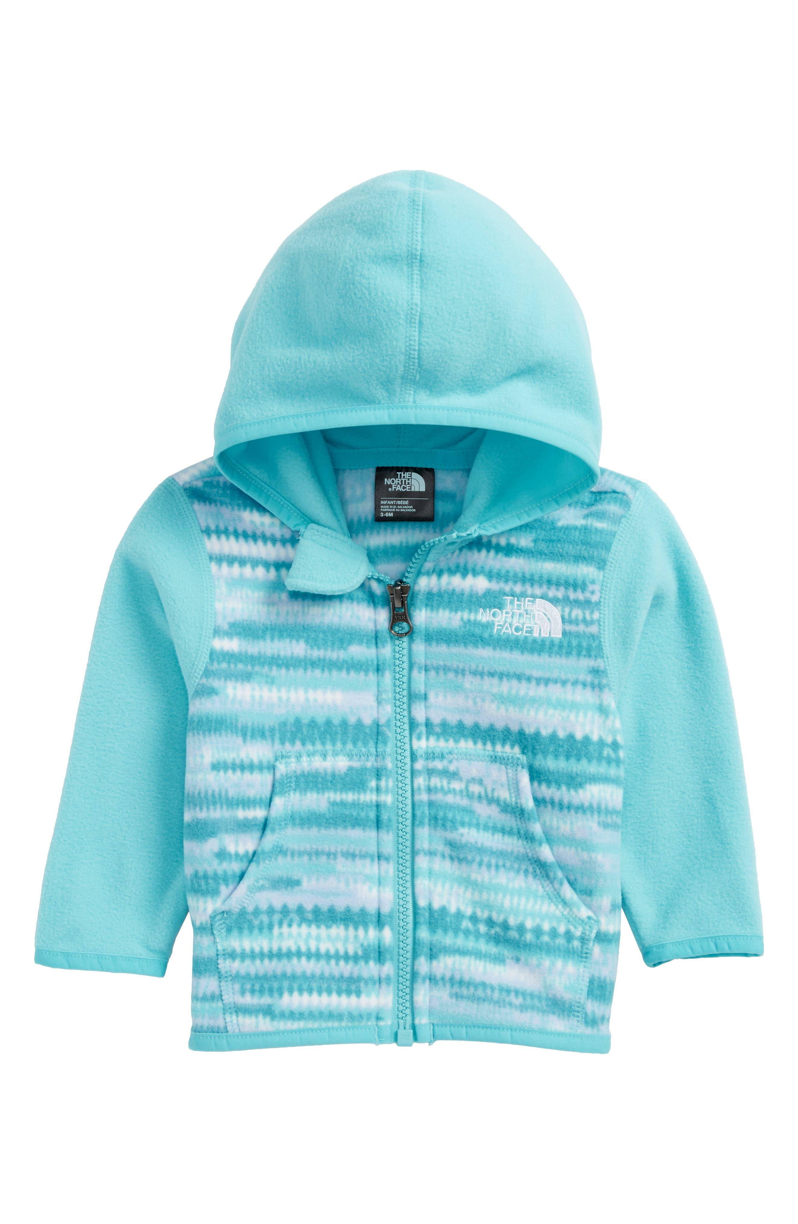 Glacier Full Zip Hoodie,                         Main,                         color, Algiers Blue Loom Print