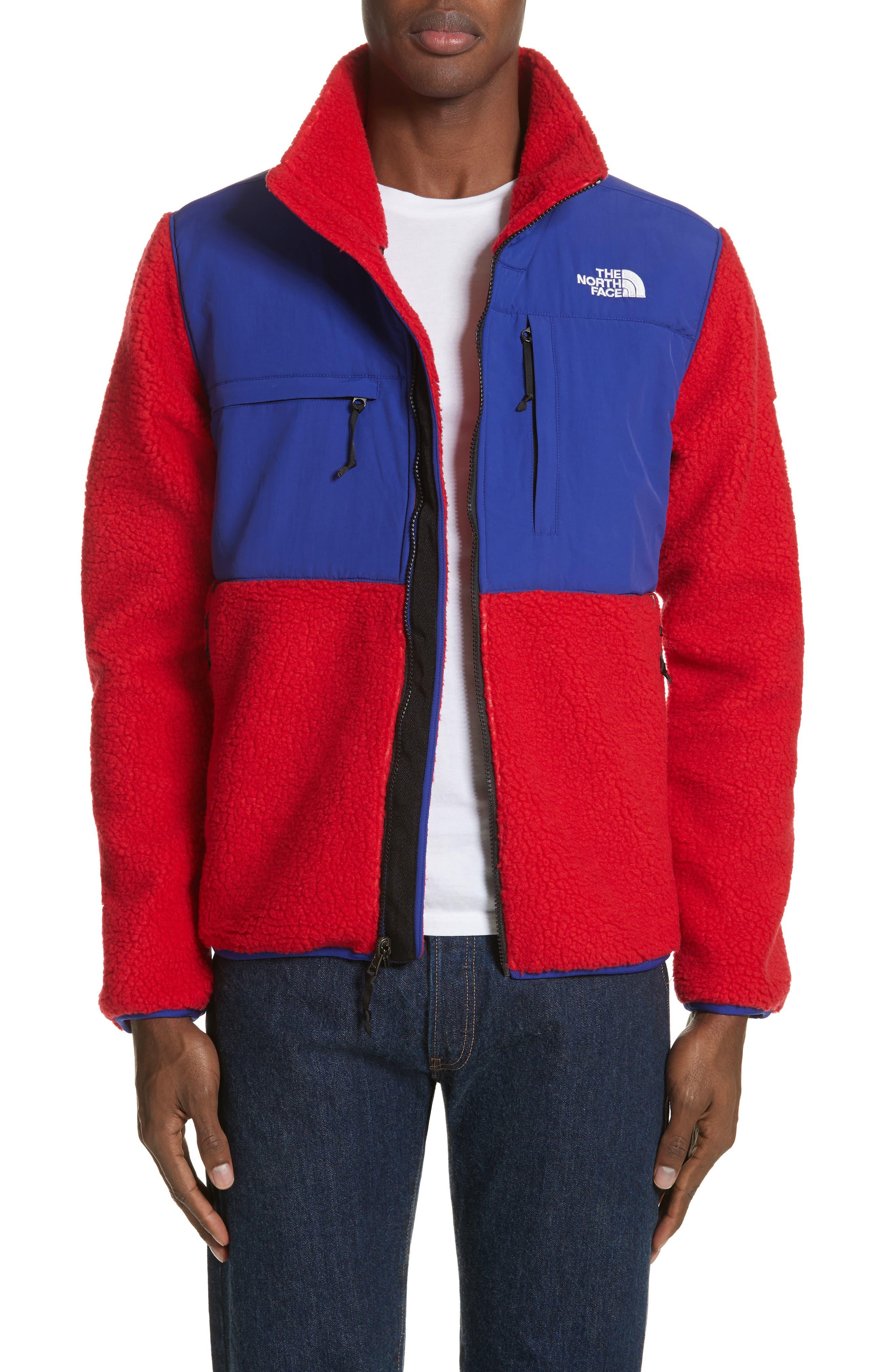 Denali Jacket,                             Alternate thumbnail 7, color,                             Tnf Red