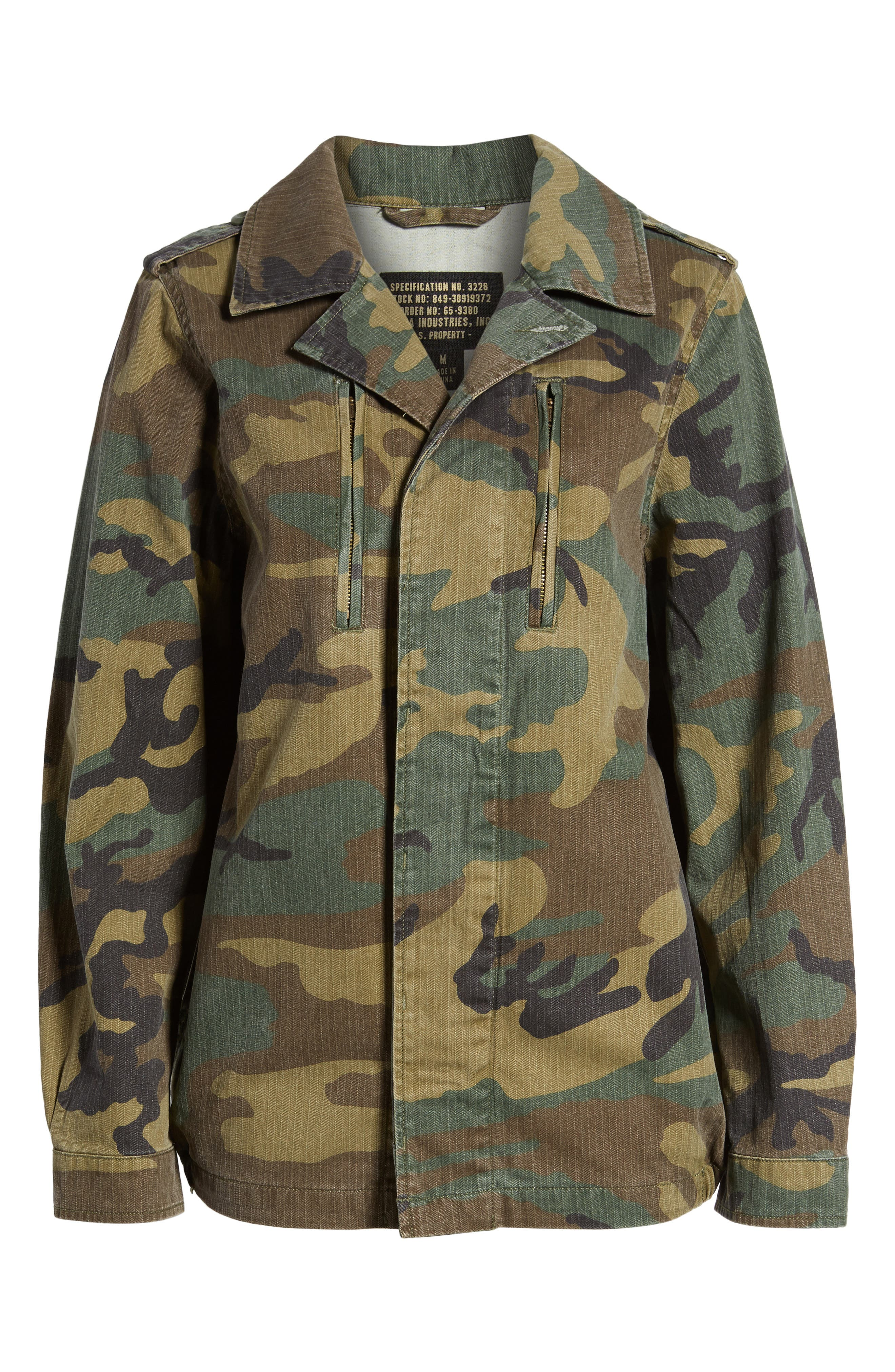 Alternate Image 6  - Alpha Industries F-2 French Field Coat