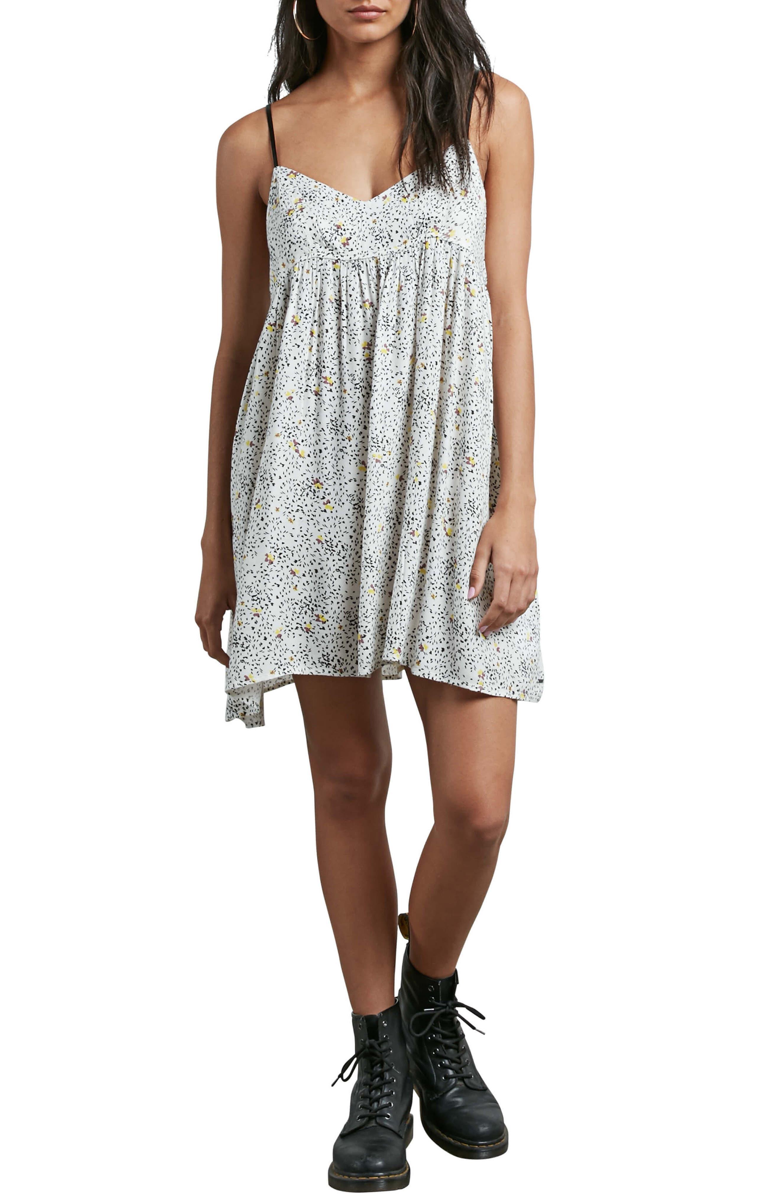 Main Image - Volcom Thx It's a New Dress Babydoll Dress