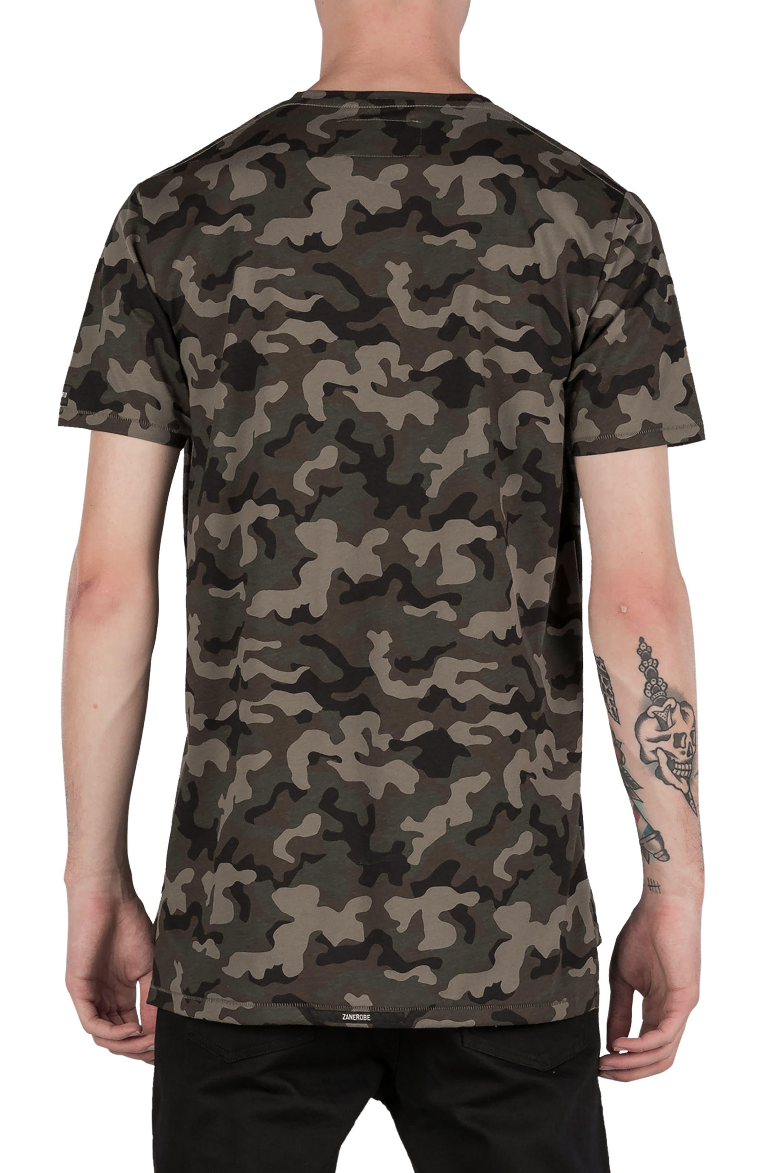 Flintlock Camo T-Shirt,                             Alternate thumbnail 2, color,                             Dark Camo