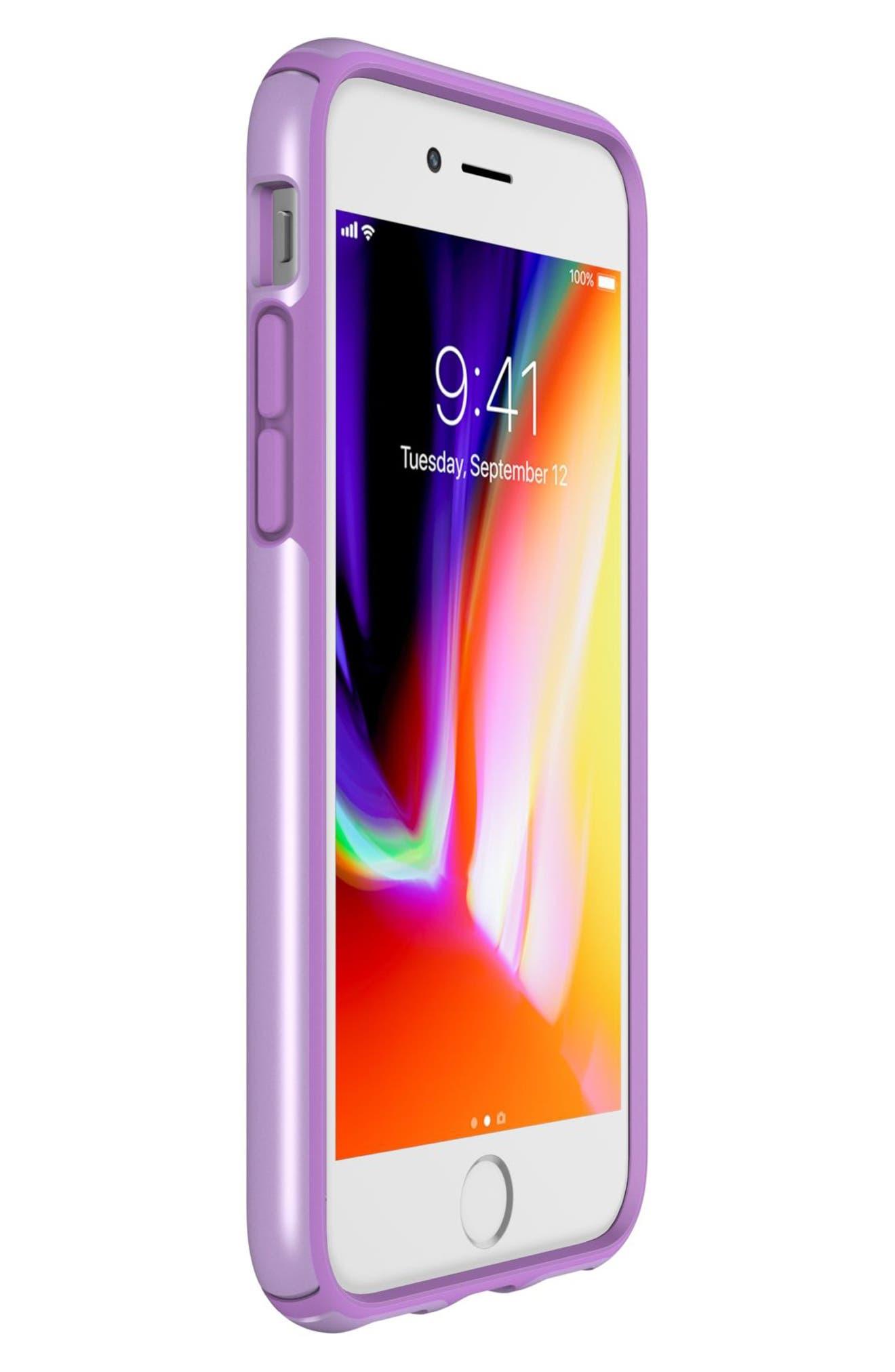 iPhone 6/6s/7/8 Case,                             Alternate thumbnail 4, color,                             Taro Purple Metallic/ Purple