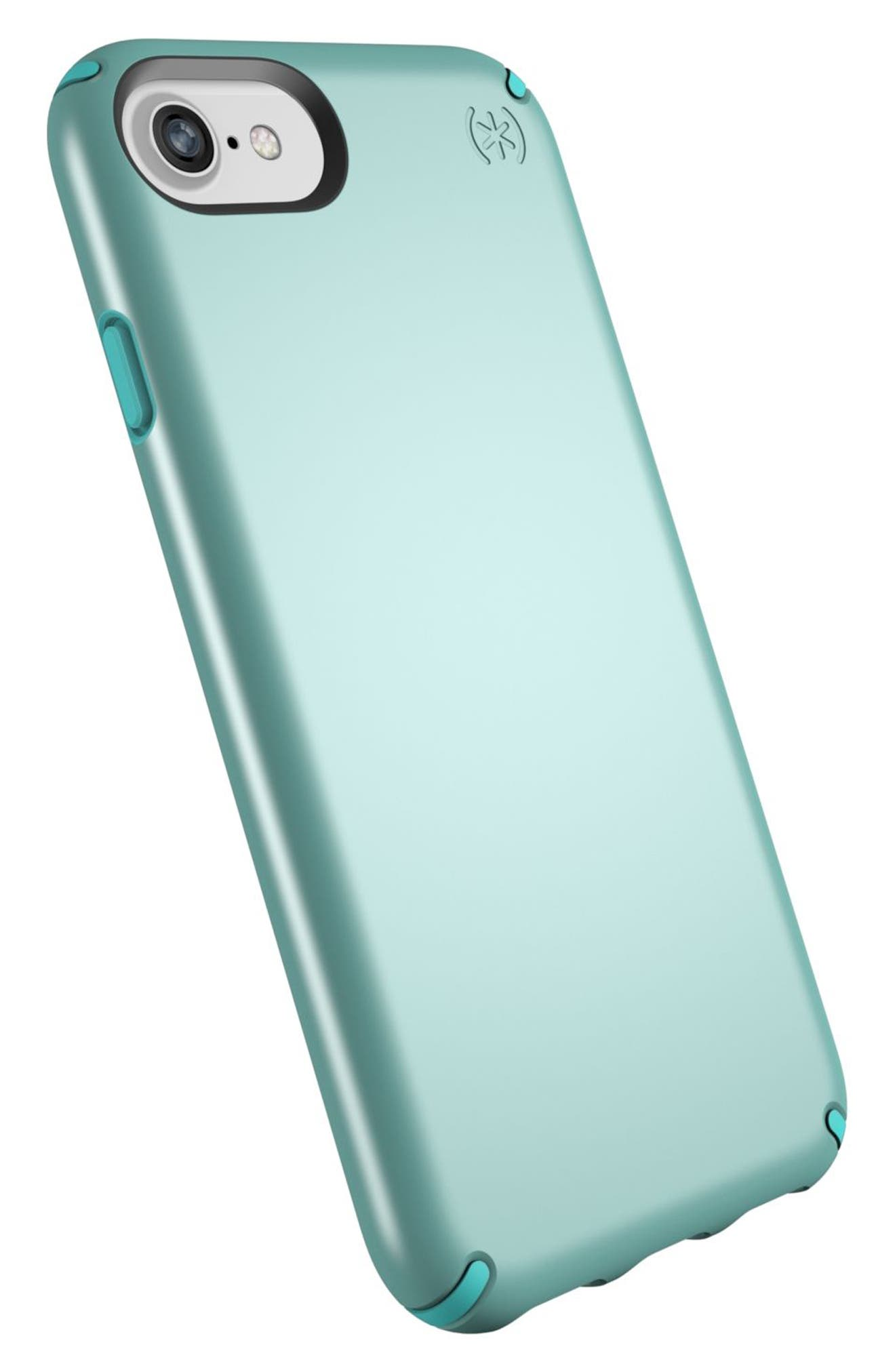 iPhone 6/6s/7/8 Case,                             Alternate thumbnail 3, color,                             Peppermint Green/ Teal